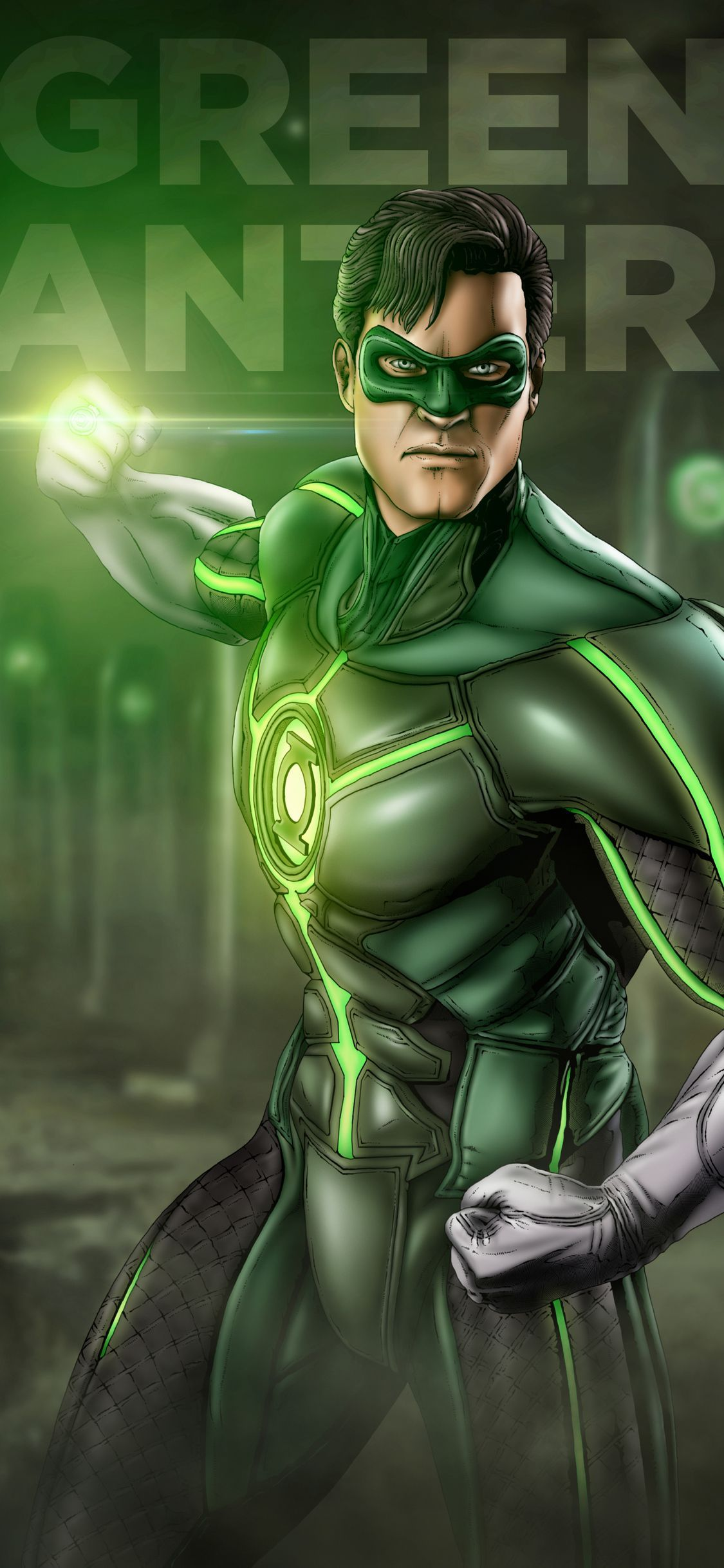 1125x2436 1125x2436 Green Lantern Artwork Iphone XS,Iphone 10,Iphone X ...