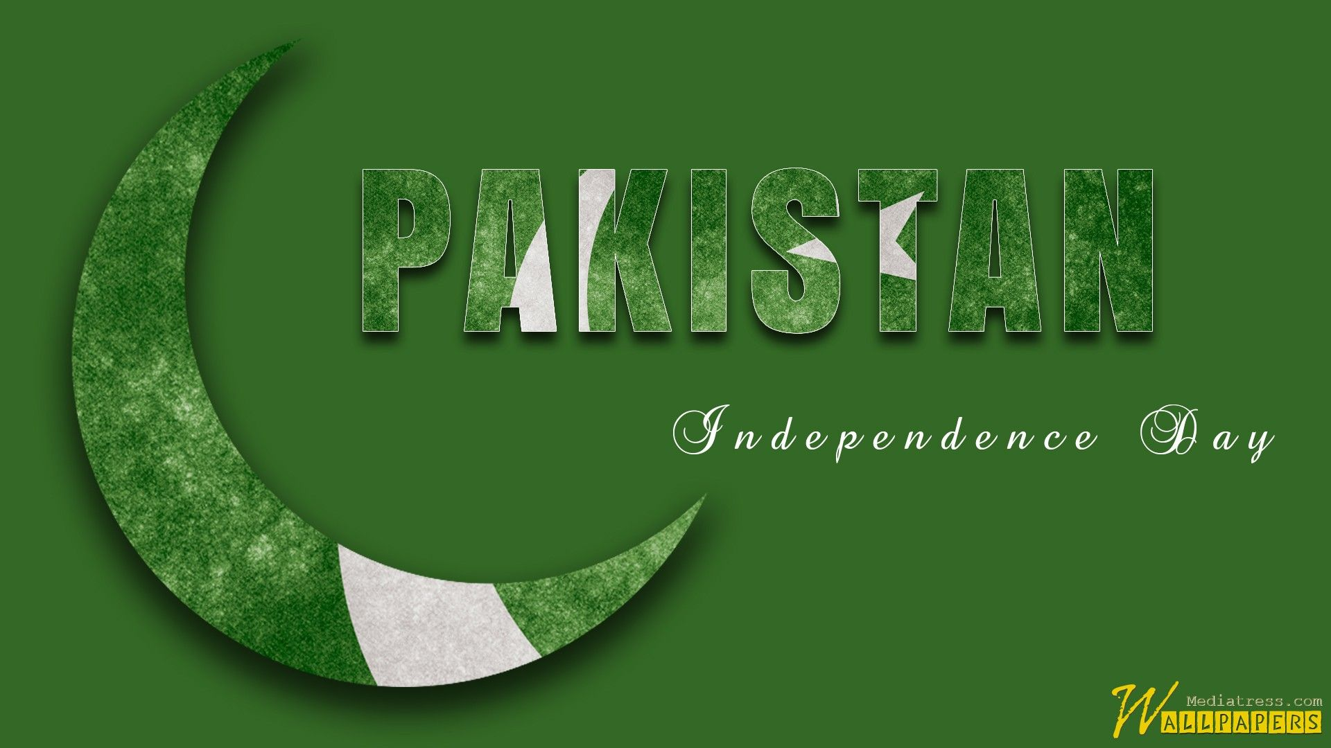 1920x1080 Wallpaper Of Happy Independence Day With Pakistani Flag Mt Baby ...