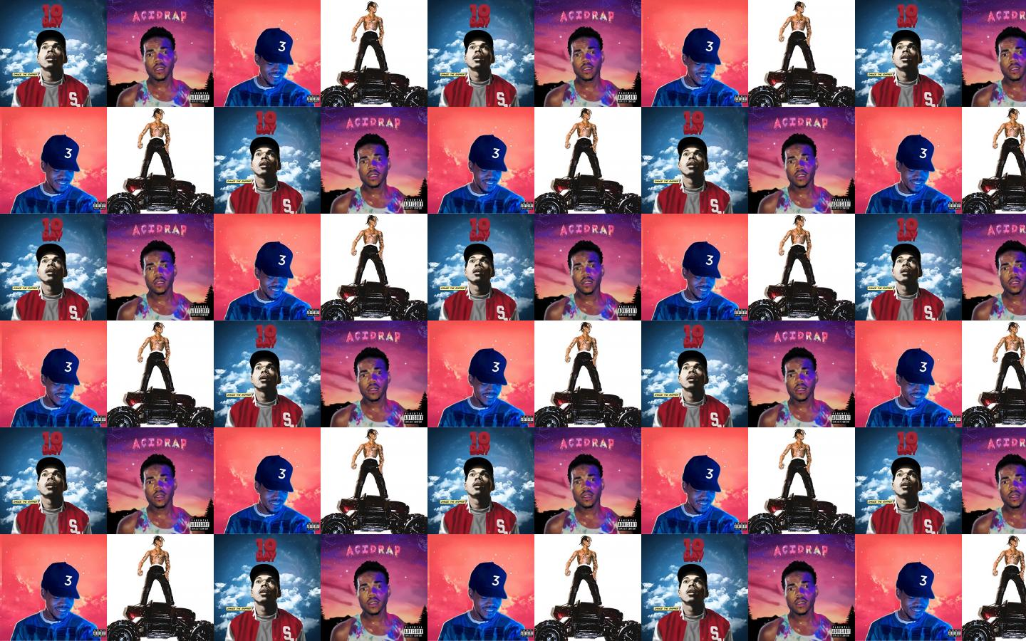 1440x900 Chance Rapper 10 Day Acid Rap Colouring Wallpaper « Tiled ...