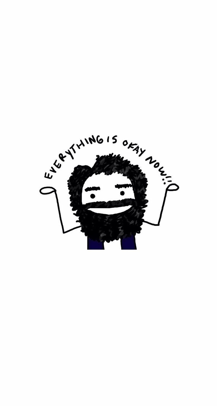 744x1392 Everything is OK now - iPhone wallpapers @mobile9   #cute ...
