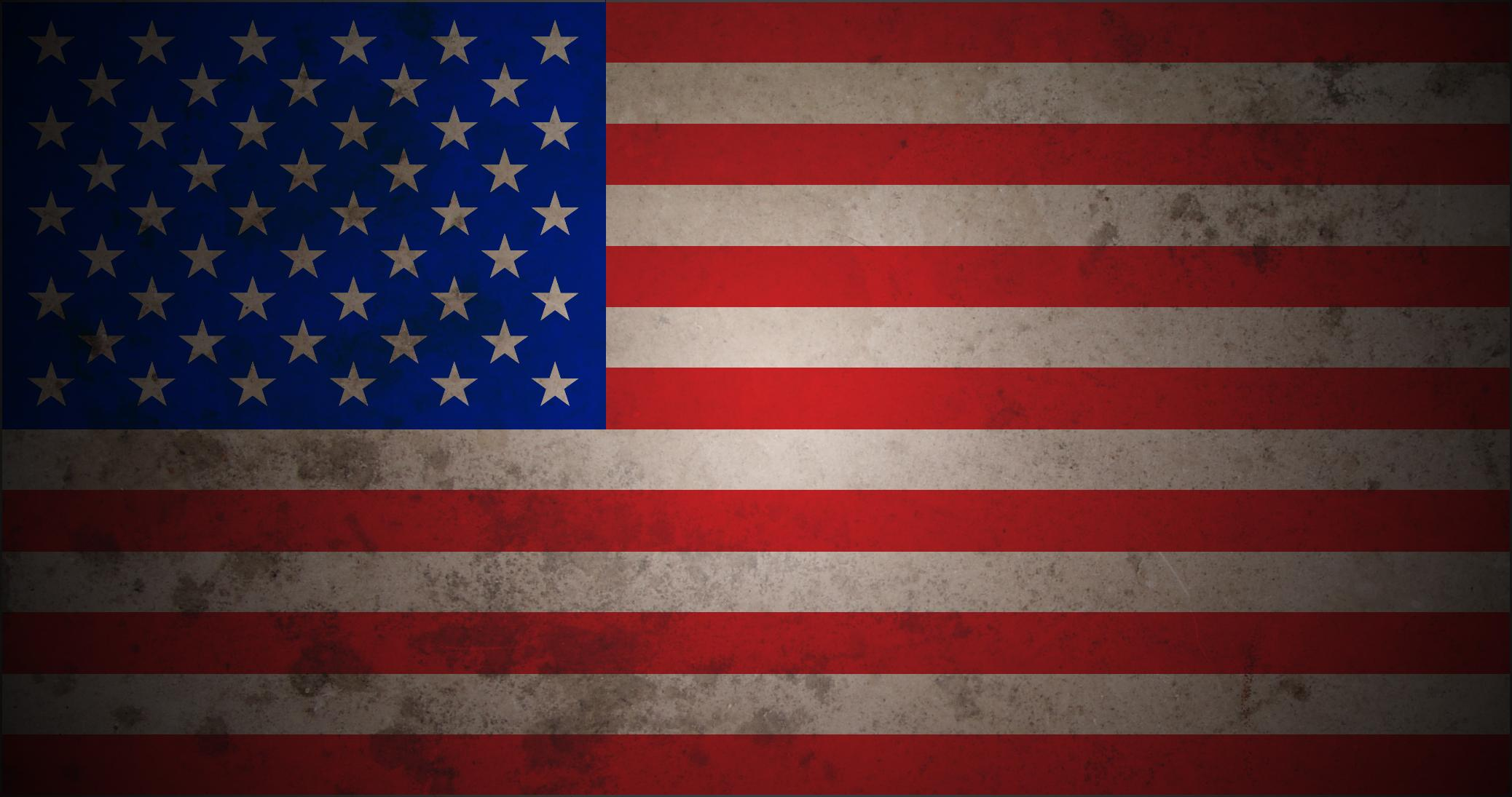 2076x1095 American Flag Desktop Wallpapers