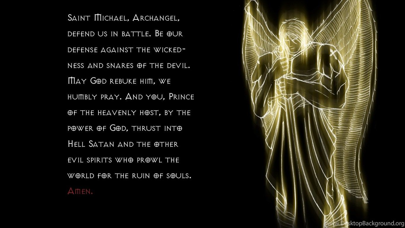 1366x768 St Michael Wallpapers Wallpapers Zone Desktop Background
