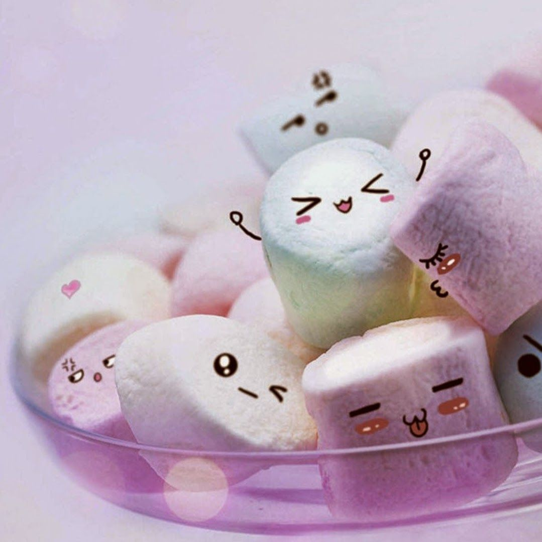 1079x1079 21242 cute marshmallow wallpapers