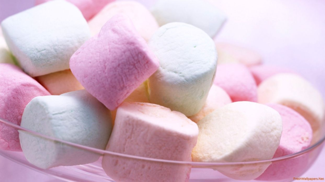 1243x698 Cute Candy Marshmallow Wallpapers Hd | Wallpapers Colorful