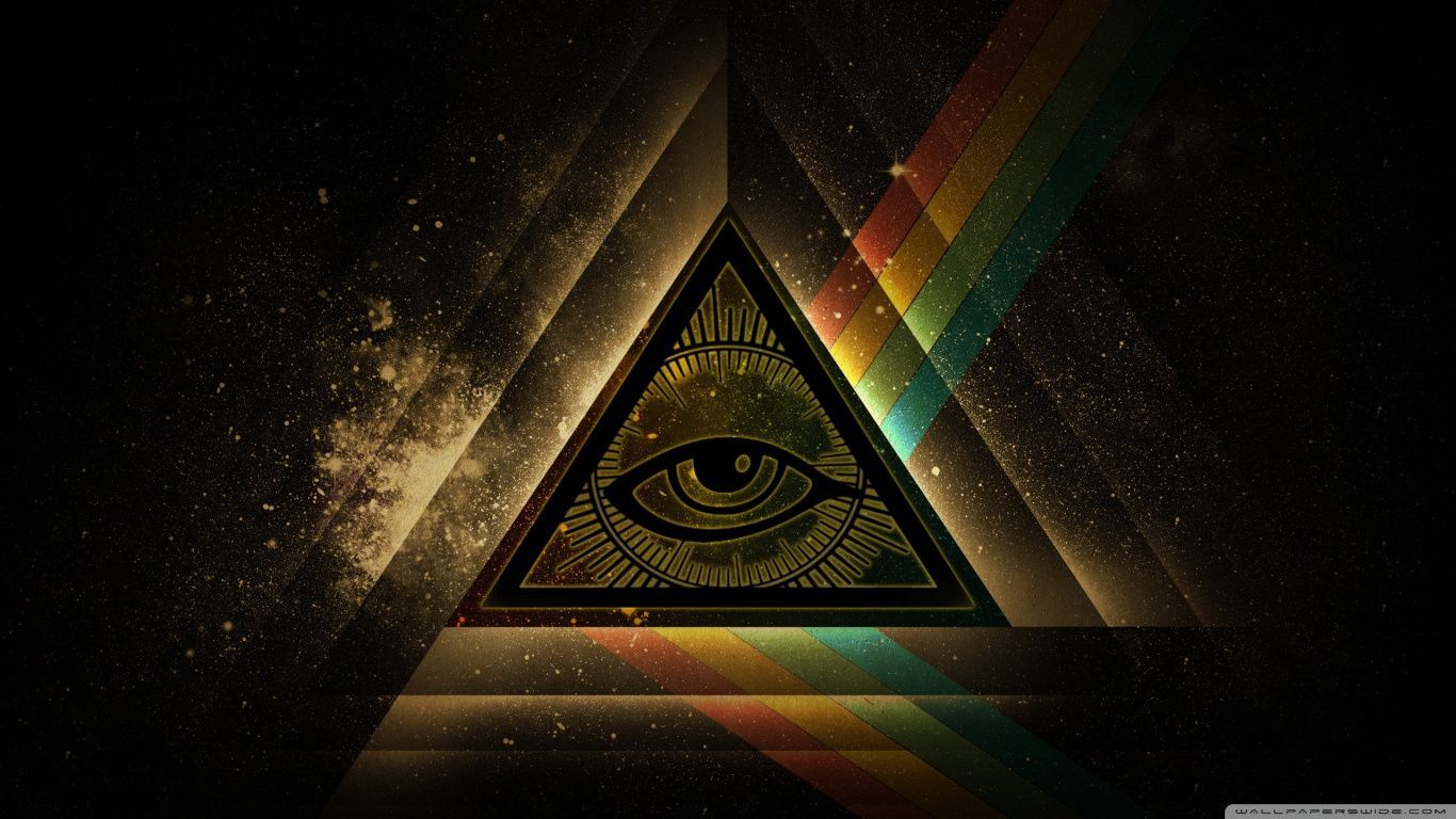 1366x768 All-seeing Eye Wallpapers