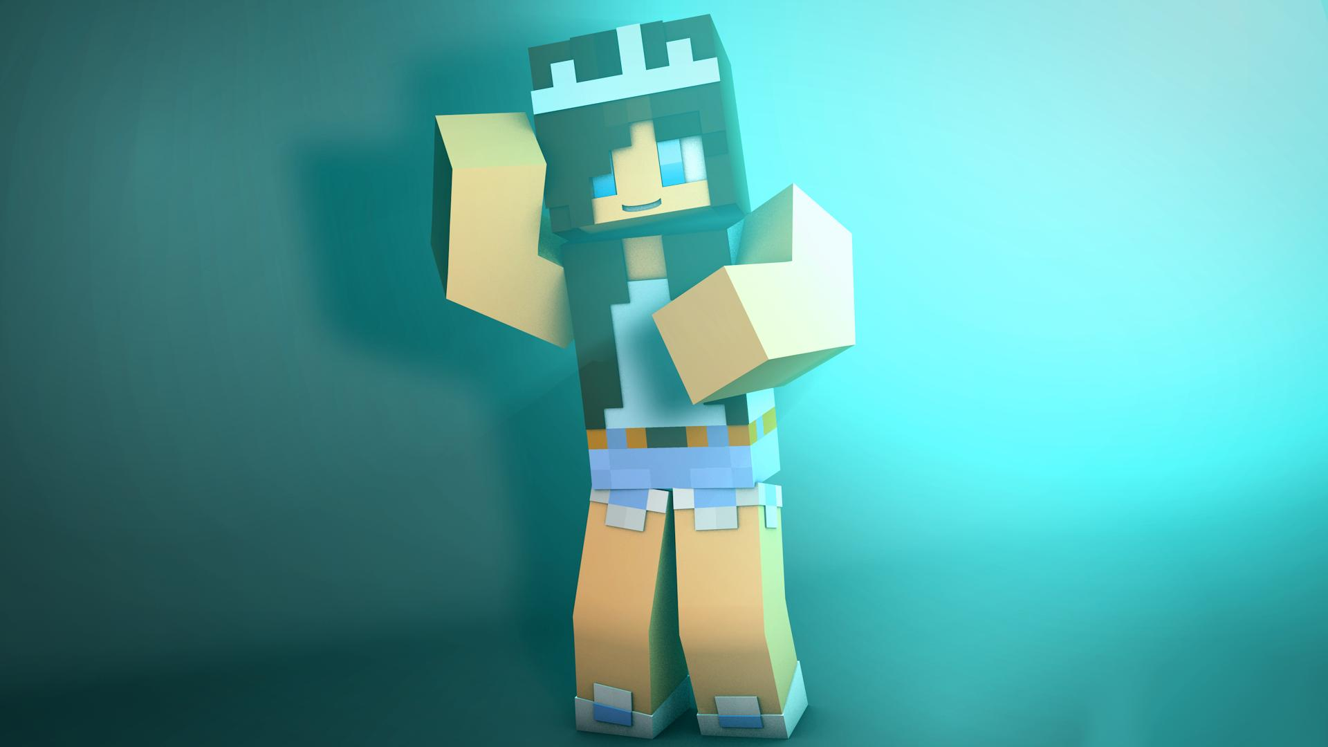 1920x1080 Girl Skins for Minecraft PE for Android - APK Download