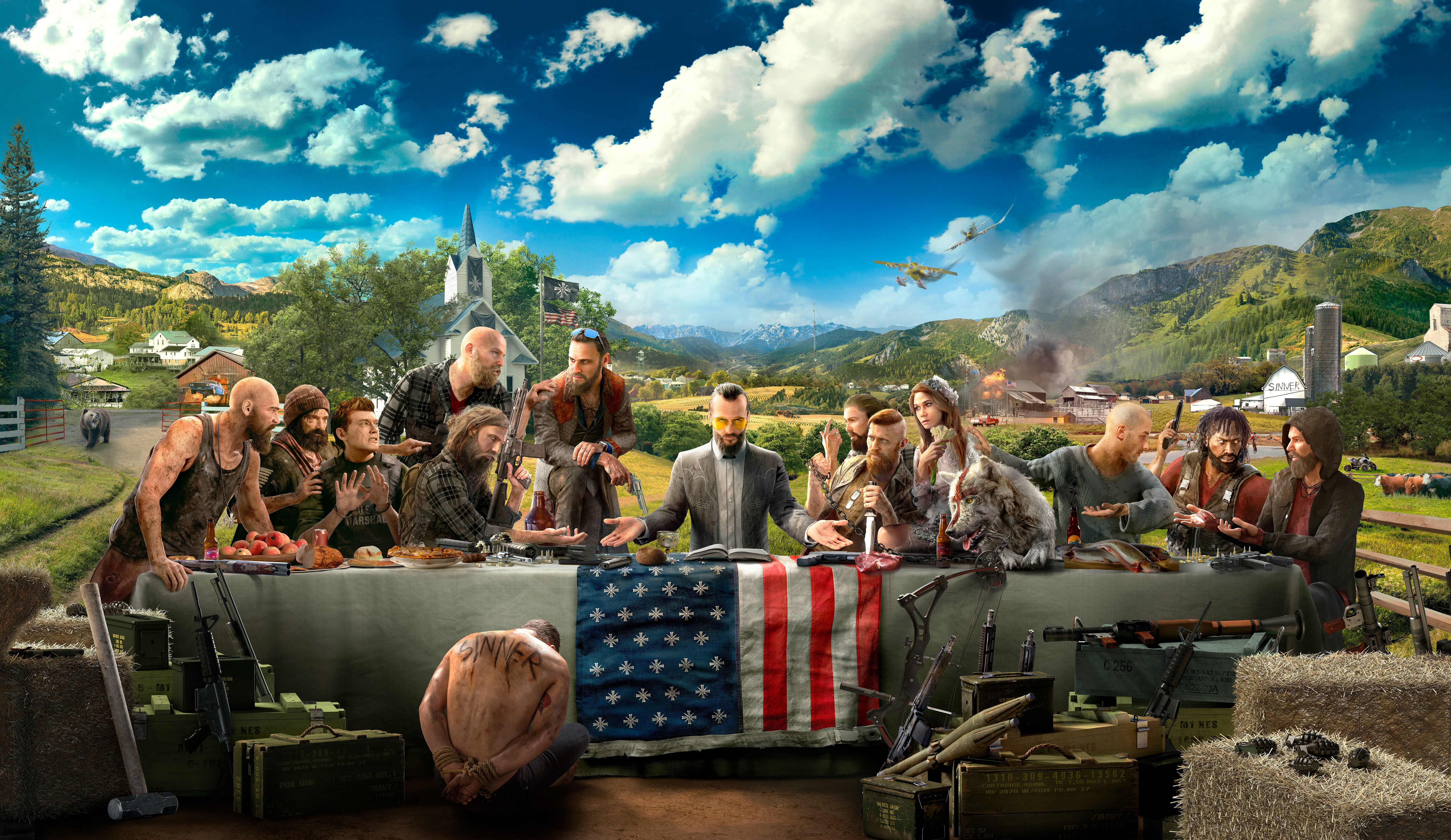 7000x4054 Far Cry 5 4K Wallpapers