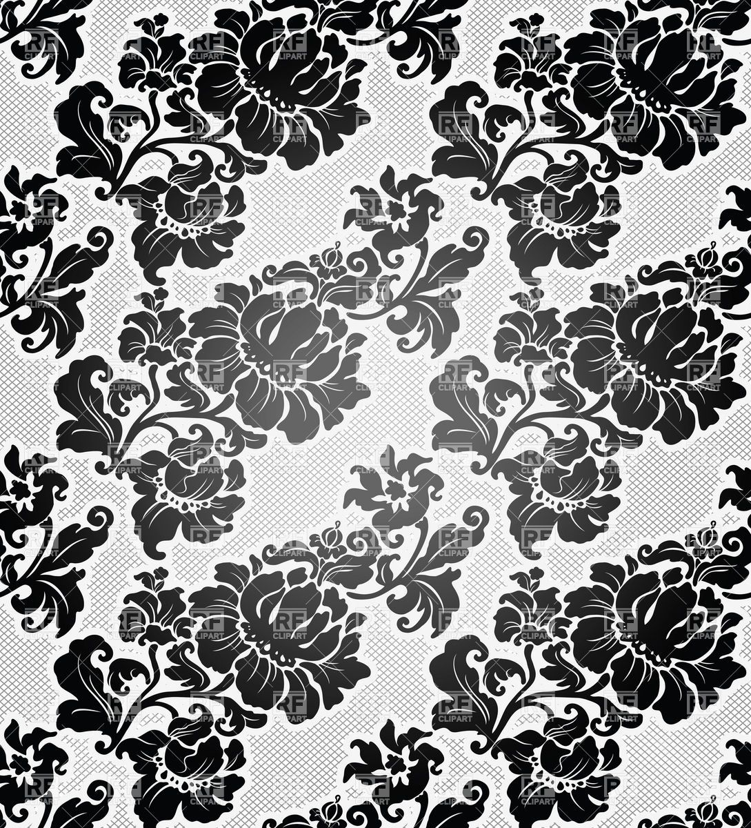 1089x1200 Free download black and white floral wallpaper download the ...