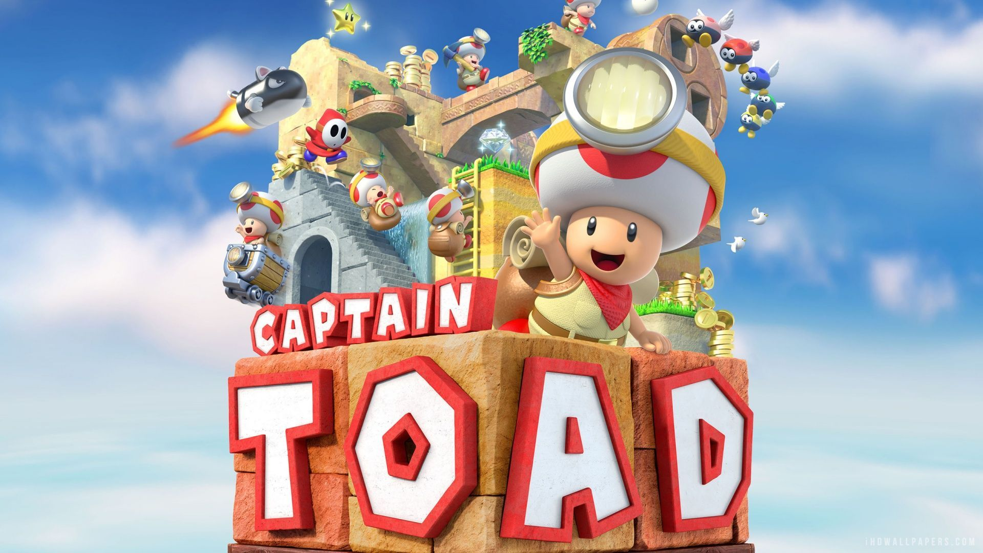 1920x1080 Captain Toad: Treasure Tracker Wallpapers