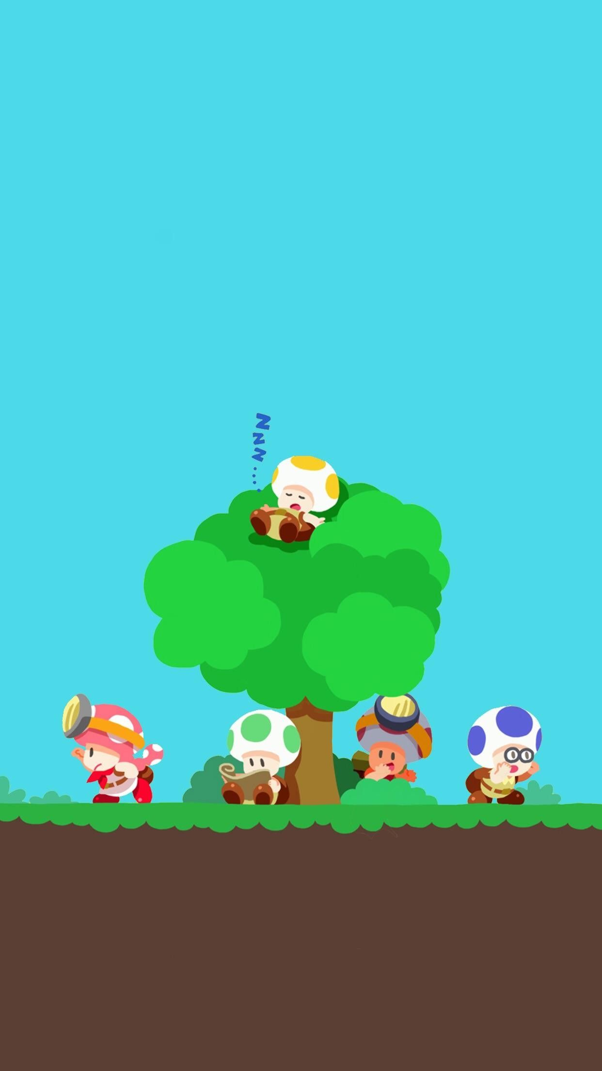 1242x2208 56+ Toad Wallpapers on WallpaperPlay