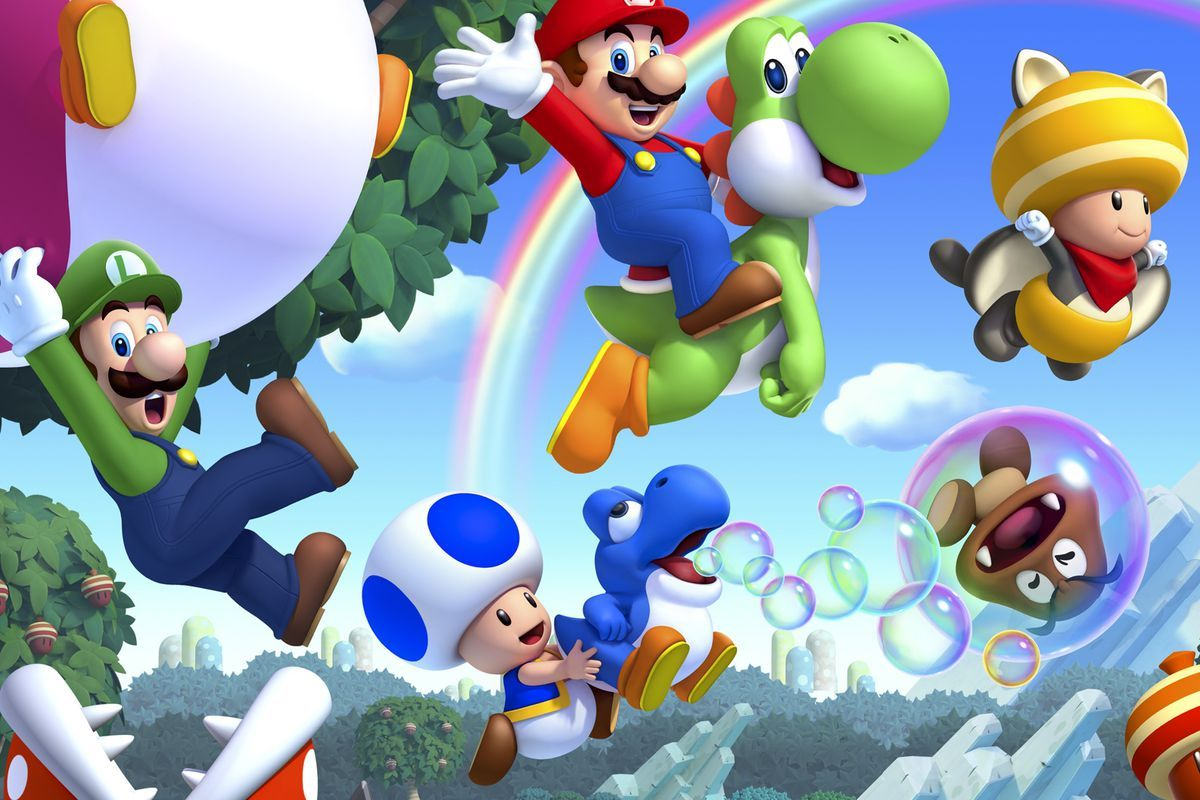 1200x800 15+] Super Mario Bros Blue Toad Wallpapers on WallpaperSafari