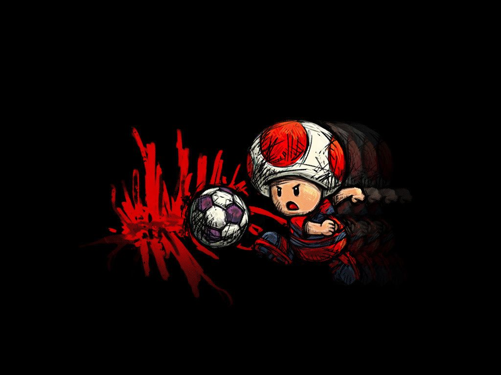 1024x768 Free download Toad soccer wallpaper by Kingens [1024x768 ...