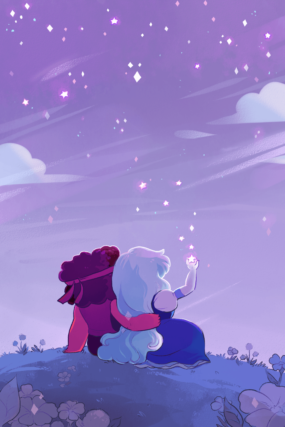 1000x1500 Sometimes it's nice being split up. | The Crystal Gems | Pinterest ...