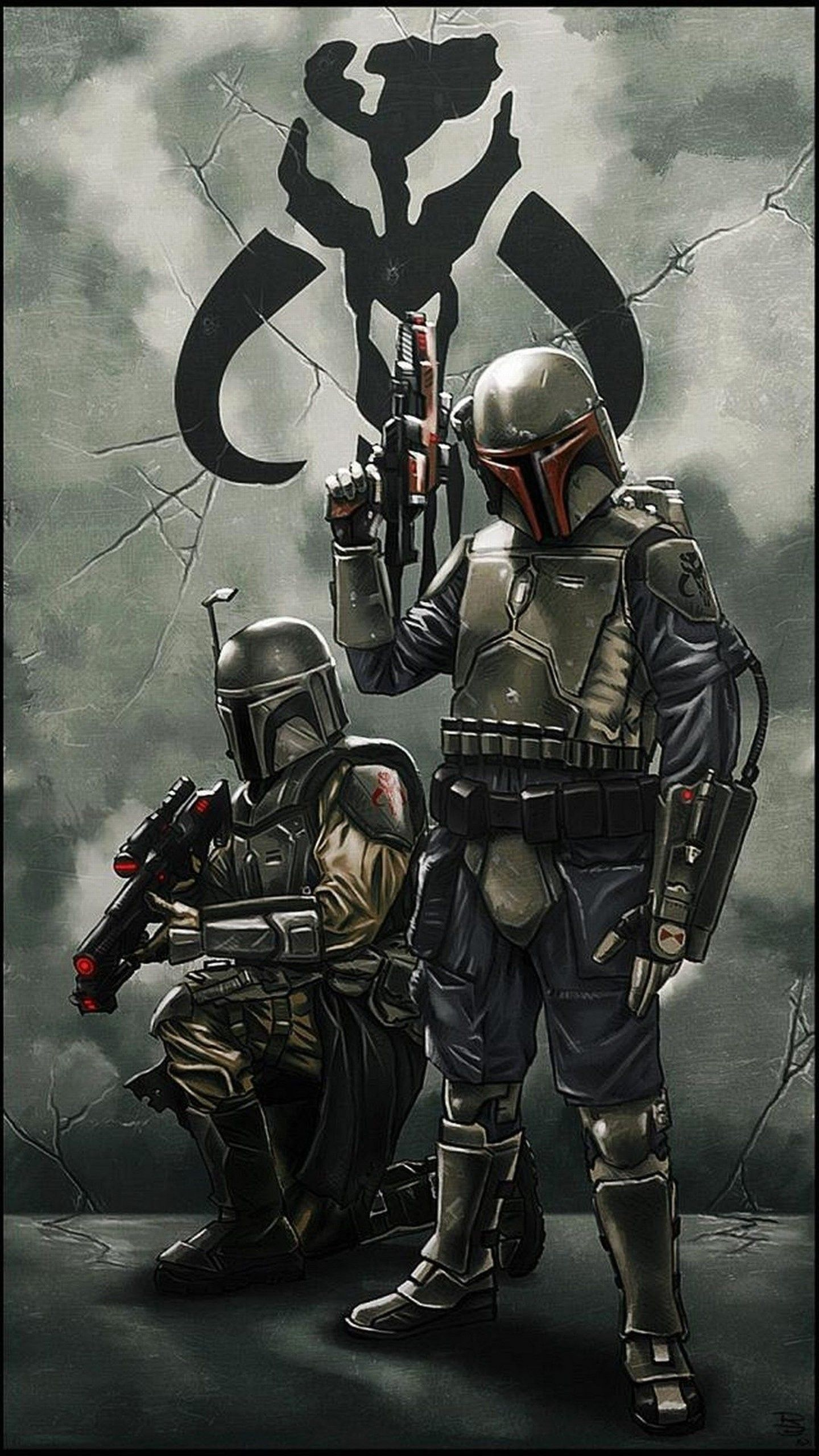 1440x2560 72+ Mandalorian Iphone Wallpapers on WallpaperPlay