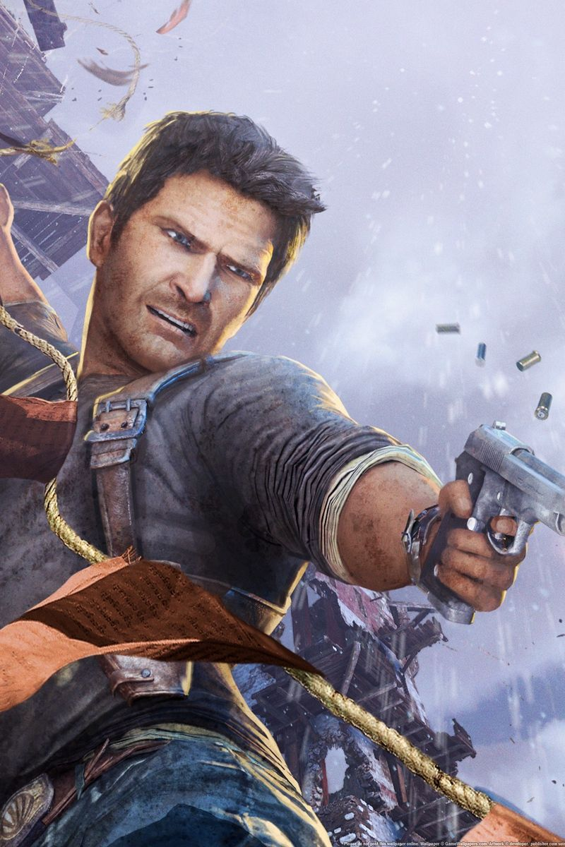 800x1200 Download wallpaper 800x1200 uncharted 2, among thieves ...