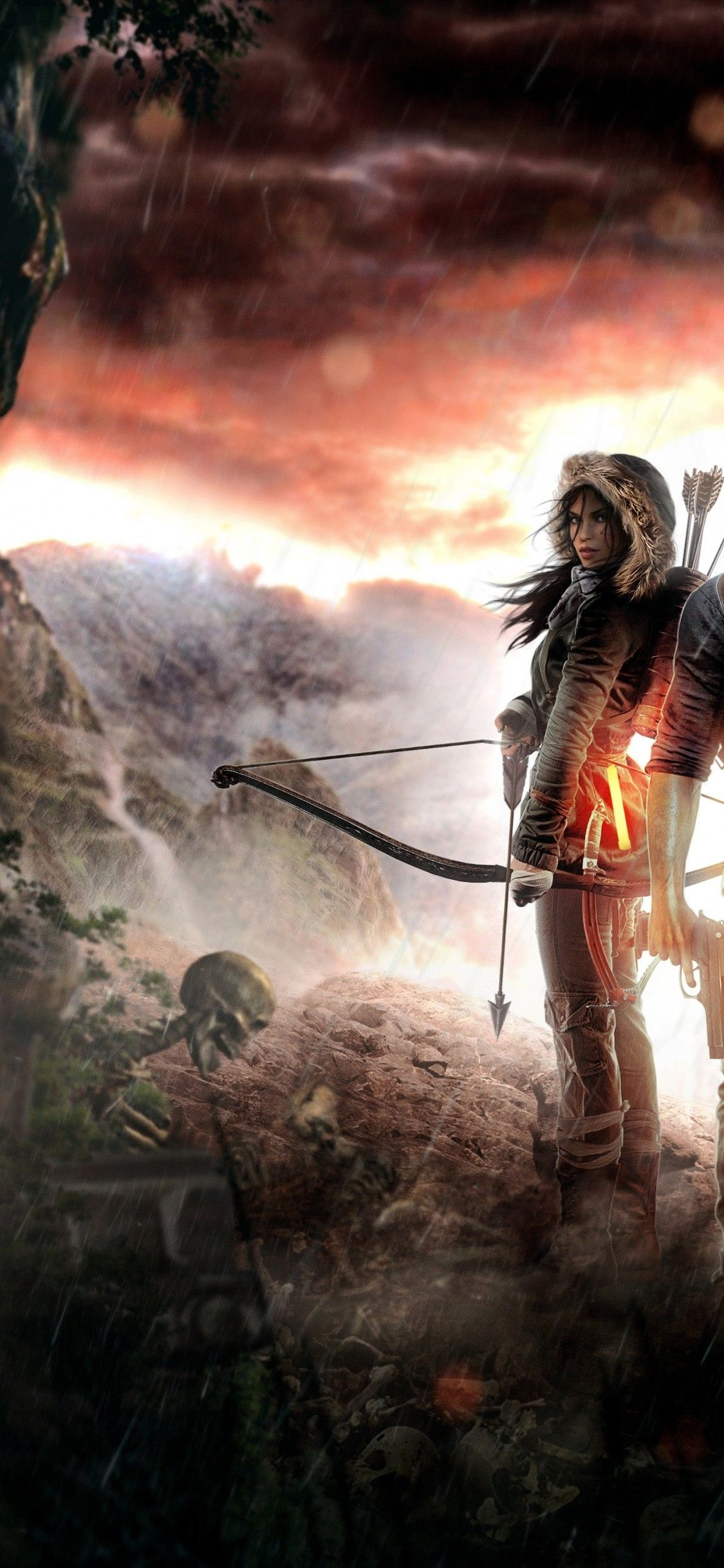 1125x2436 Download 1125x2436 Rise Of The Tomb Rider, Uncharted 4, Lara ...