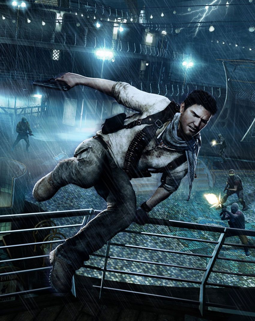 850x1070 Promotional Poster Art - Uncharted 3: Drake's Deception Art ...