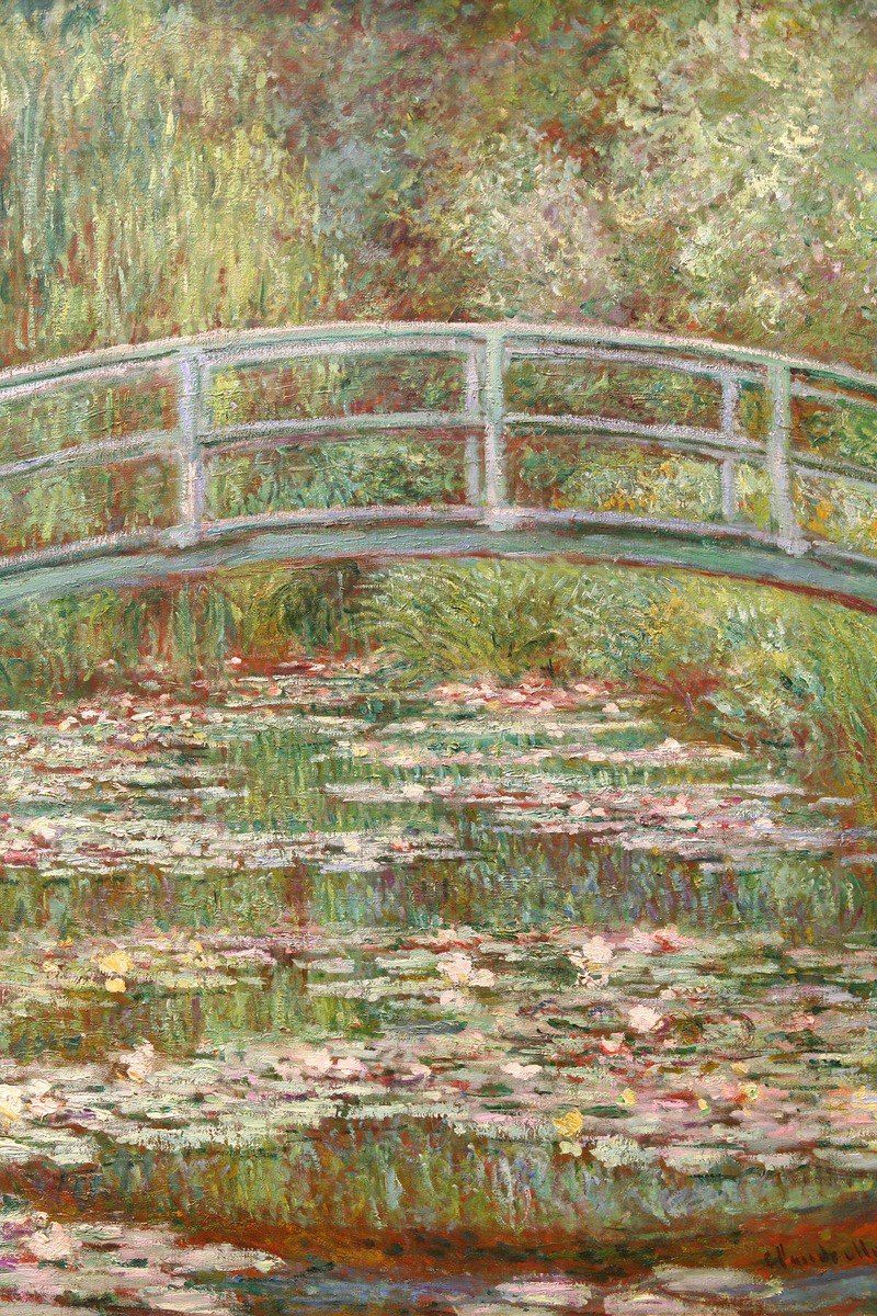 800x1200 Claude Monet's Garden, Our Tour of Giverny and his Water Pond