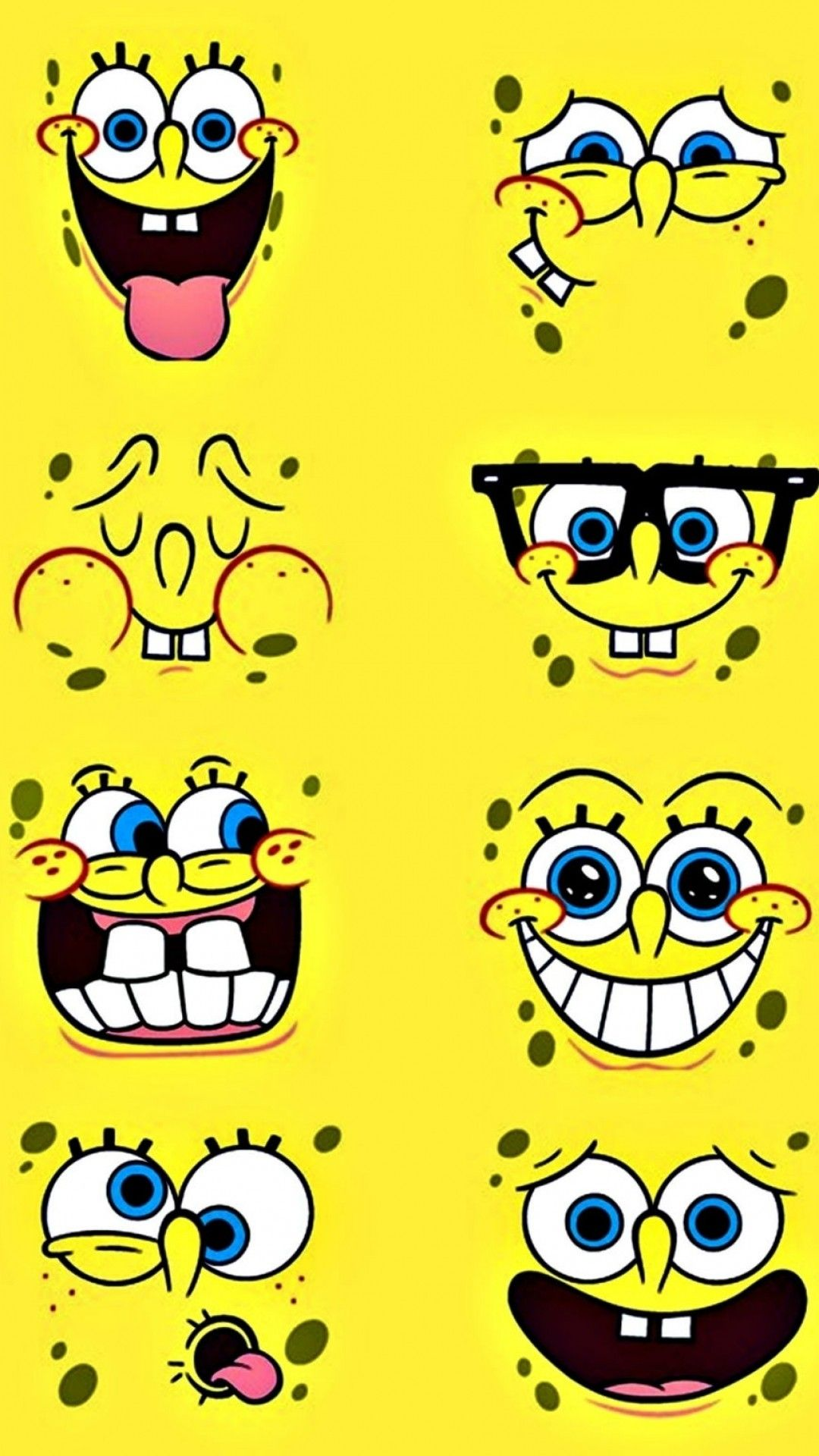 1080x1920 80+ Spongebob Wallpapers on WallpaperPlay