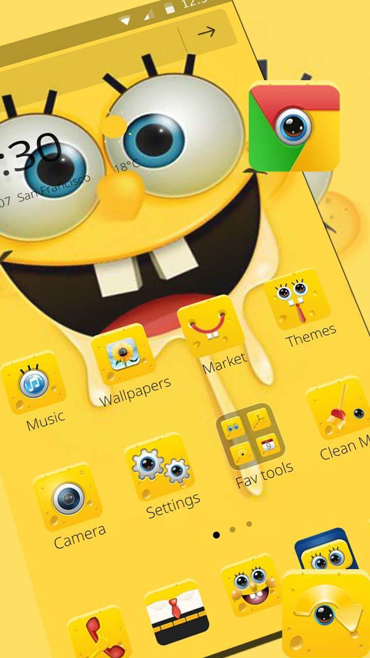 720x1280 Cartoon Spongebob Wallpaper Theme for Android - APK Download