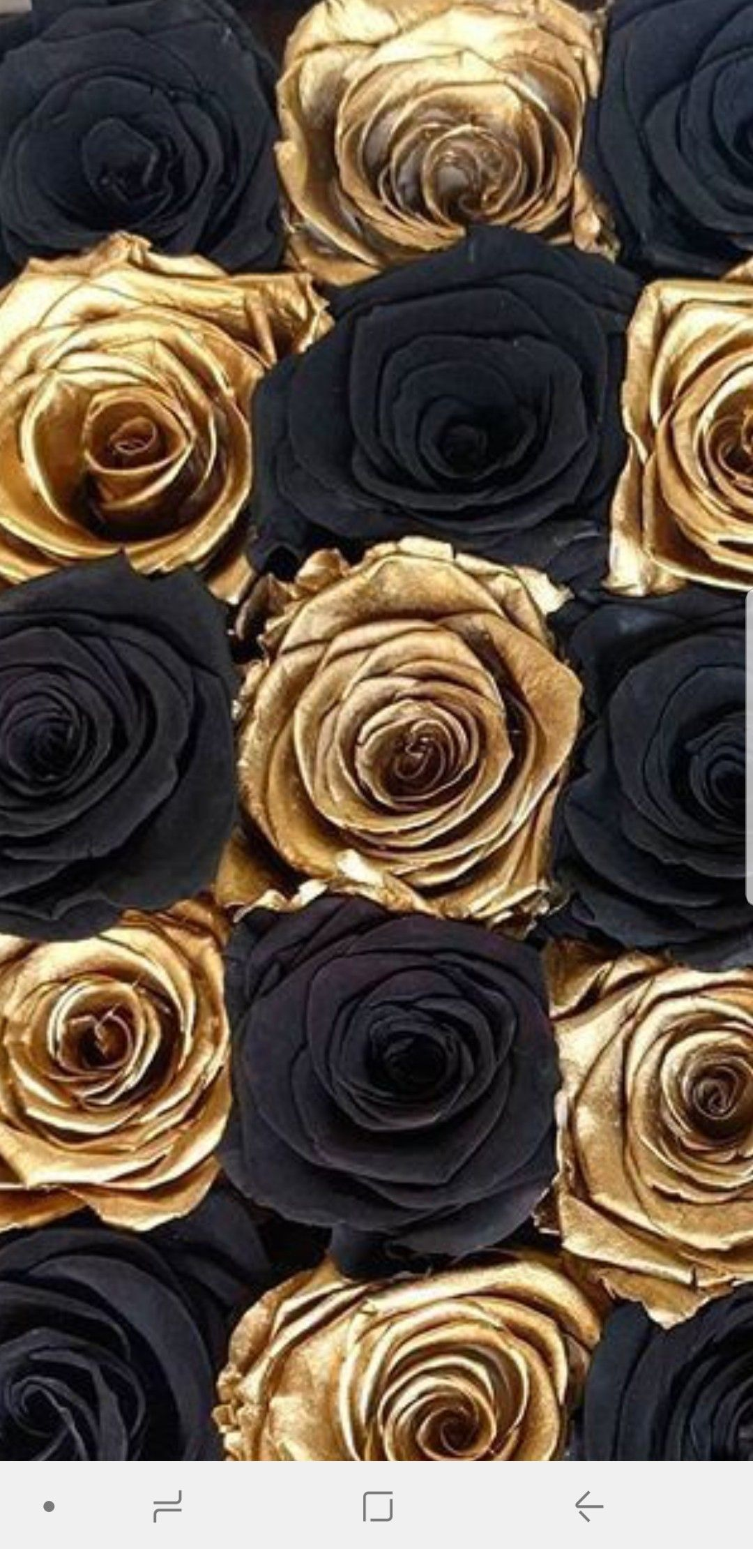1080x2220 Pin by Tanya on 01-Gold Wallpapers | Black flowers wallpaper ...