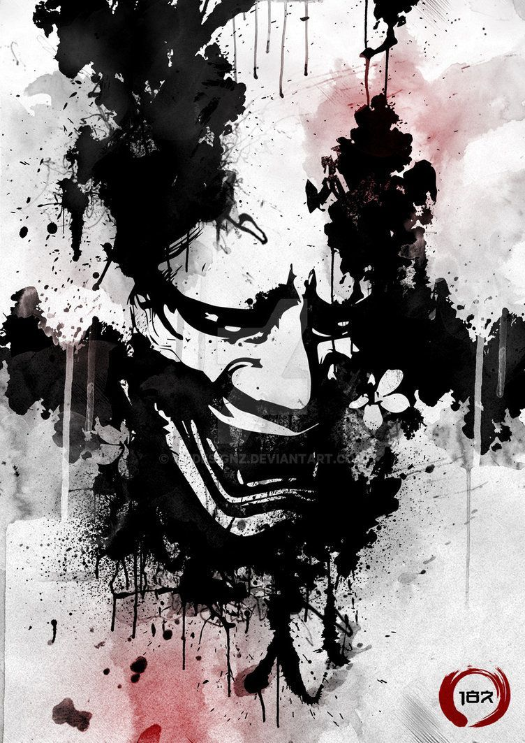 752x1063 Hannya Ink... by 187designz   I paint therefore I am!   Pinterest ...