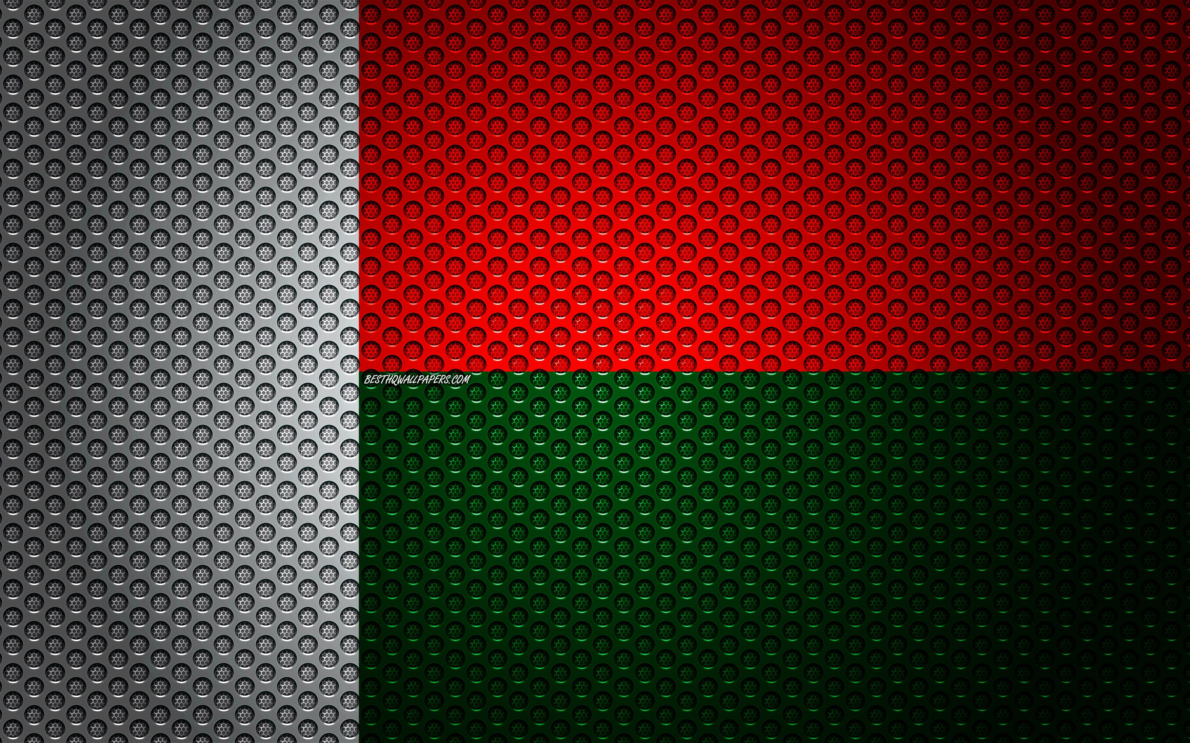 3840x2400 Download wallpapers Flag of Madagascar, 4k, creative art ...