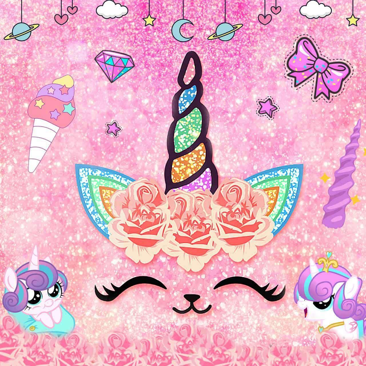 1280x1280 Flower Unicorn Cat for Android - APK Download