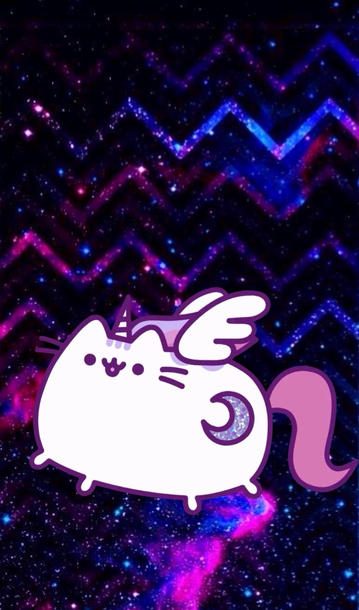 1165x1977 This is literally my favorite background | Pusheen cute ...