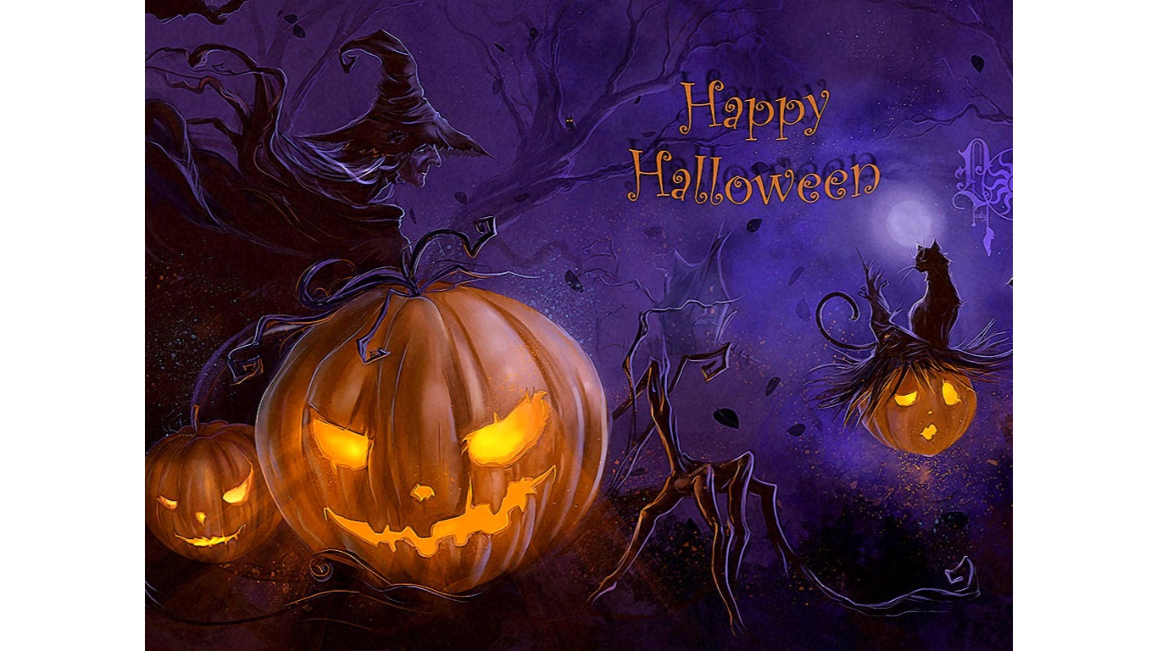 3840x2160 Free download New 2017 Happy Halloween 4K Wallpapers 4K ...