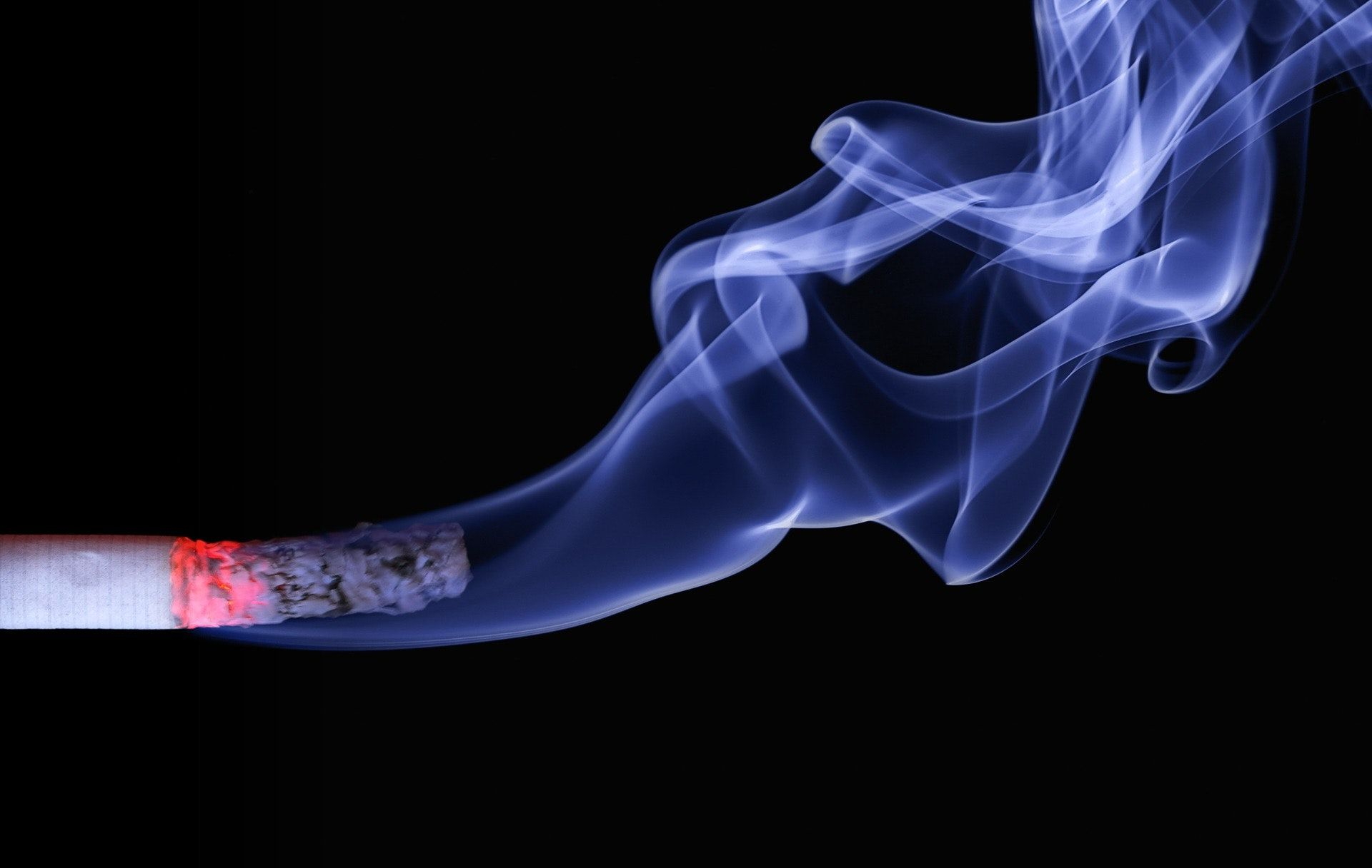 1920x1216 Lighted Cigarette Stick and White Smoke Wallpaper · Free ...
