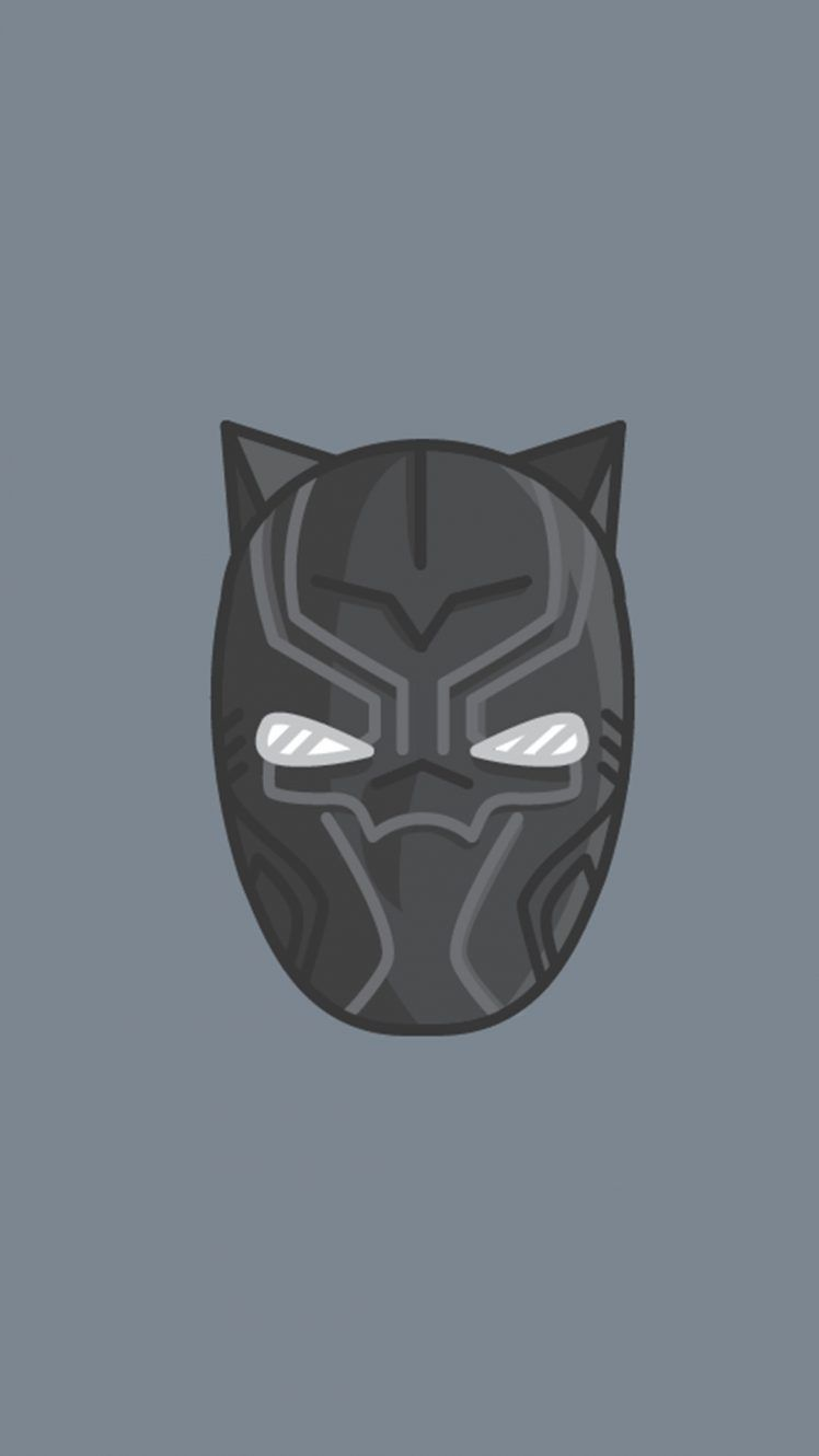 748x1330 Black Panther, Superhero, Marvel Comics Wallpapers HD ...
