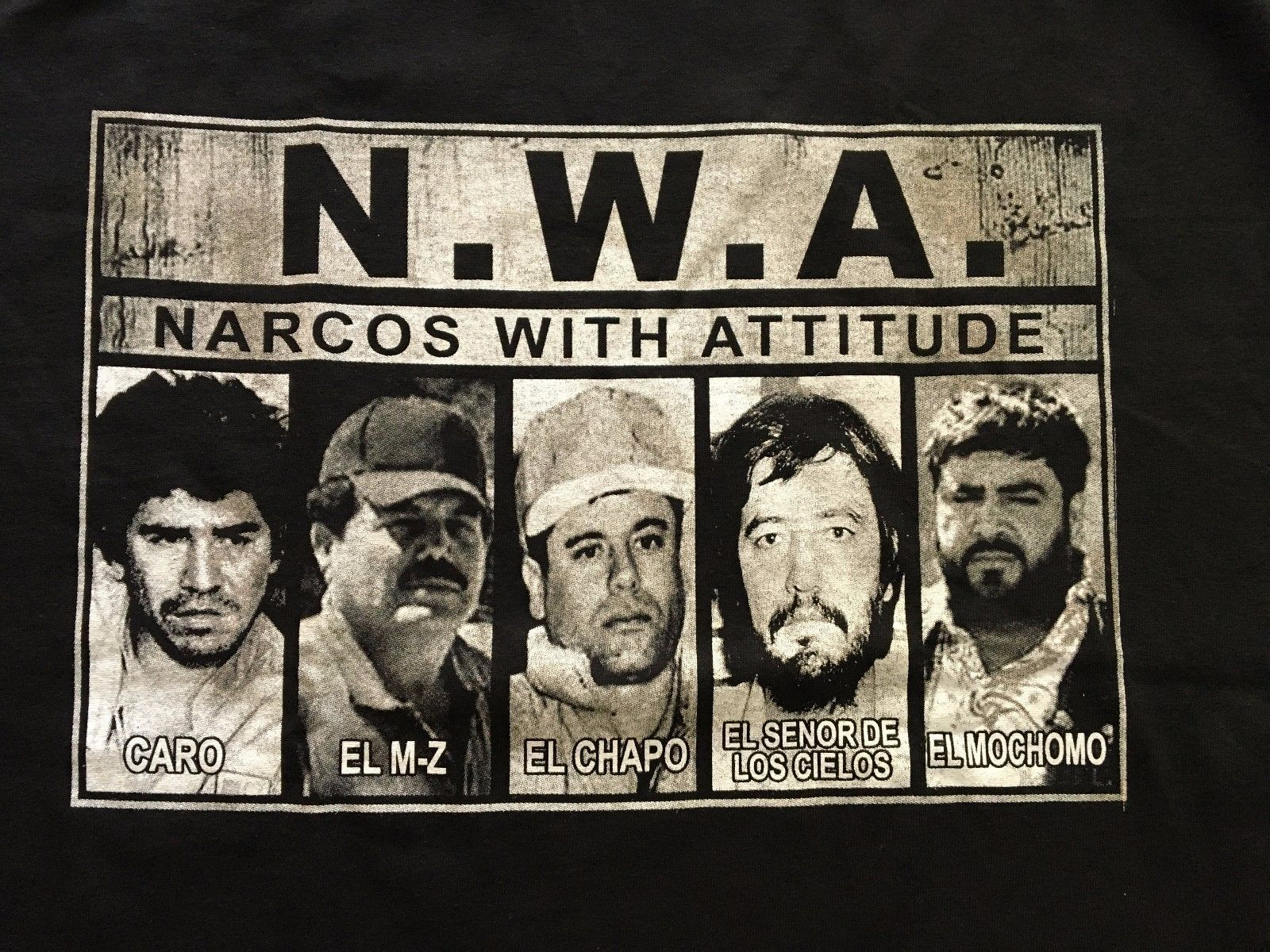 1600x1200 Details about N.W.A Straight Outta Sinaloa Narco Caro Mayo ...