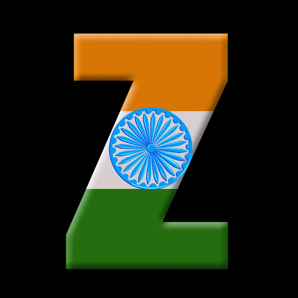 1000x1000 A To Z Alphabets Wallpaper Download - Flag Of India Letter ...
