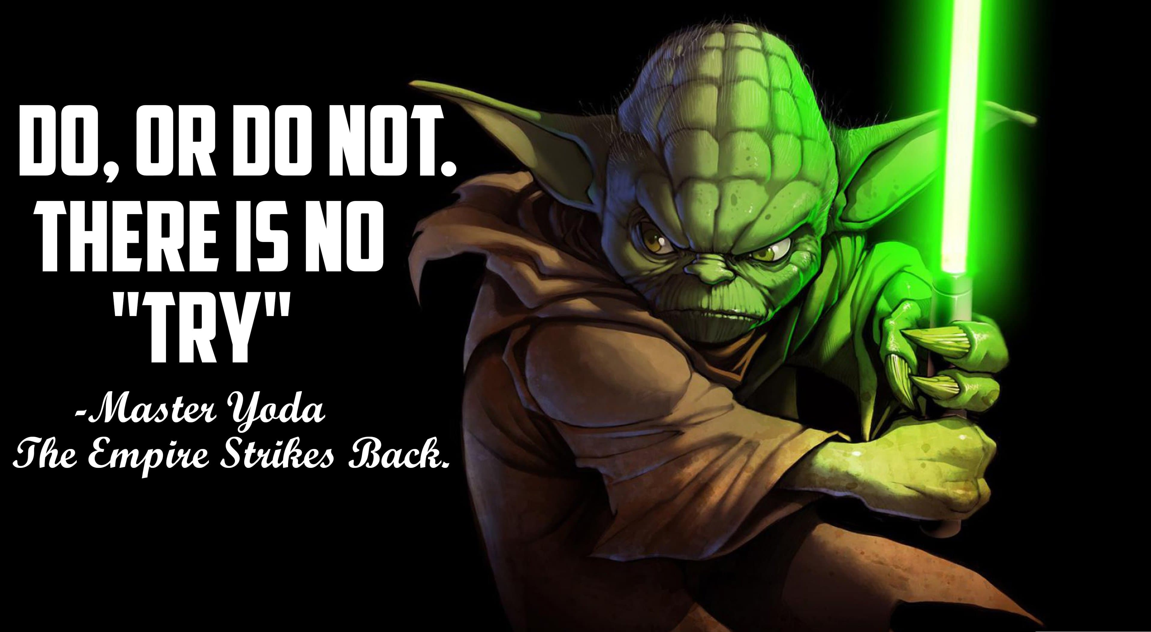 3840x2110 master yoda quote #1190 Wallpapers and Free Stock Photos ...
