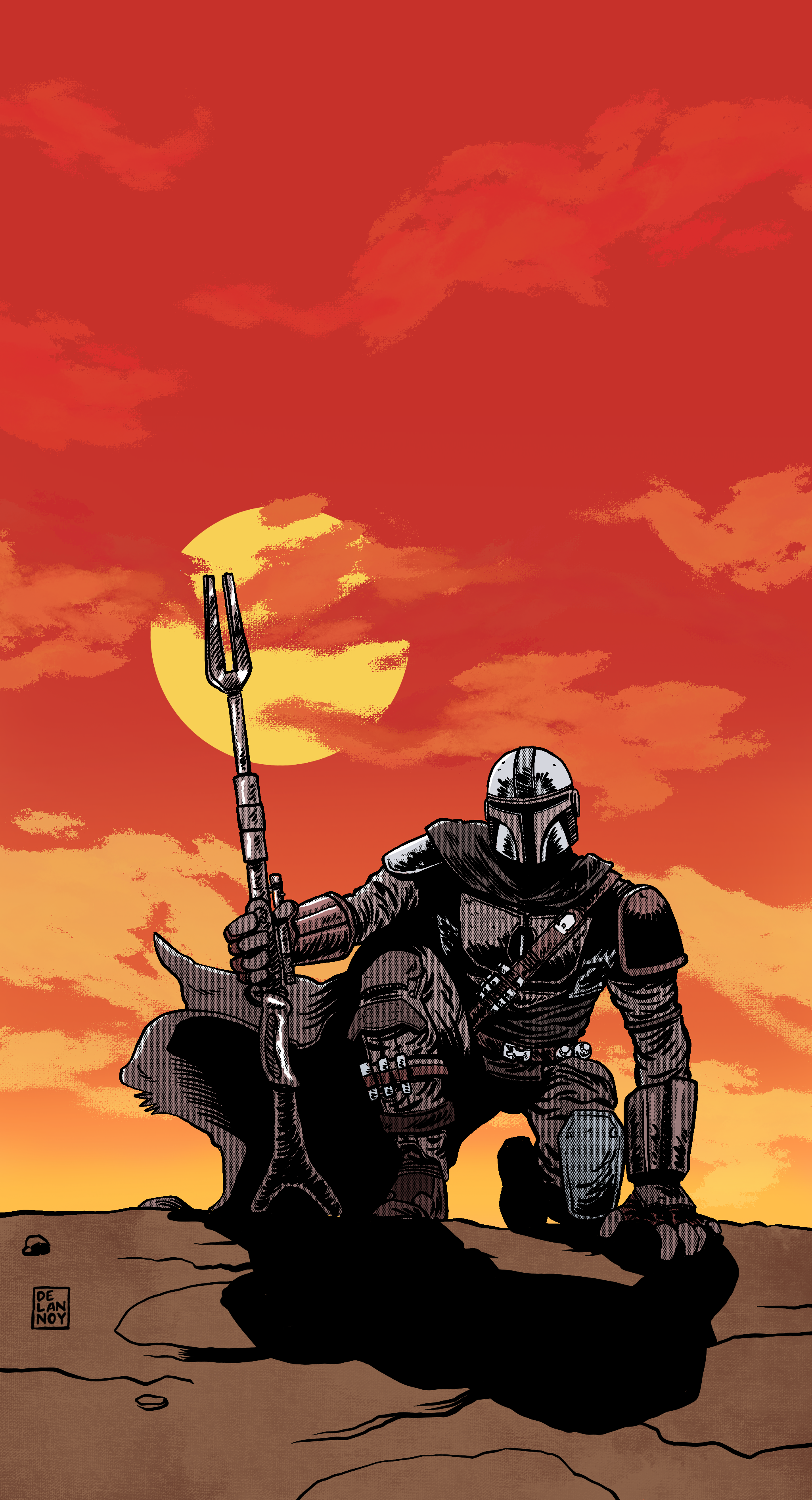 2048x3782 The Mandalorian Wallpaper - Album on Imgur
