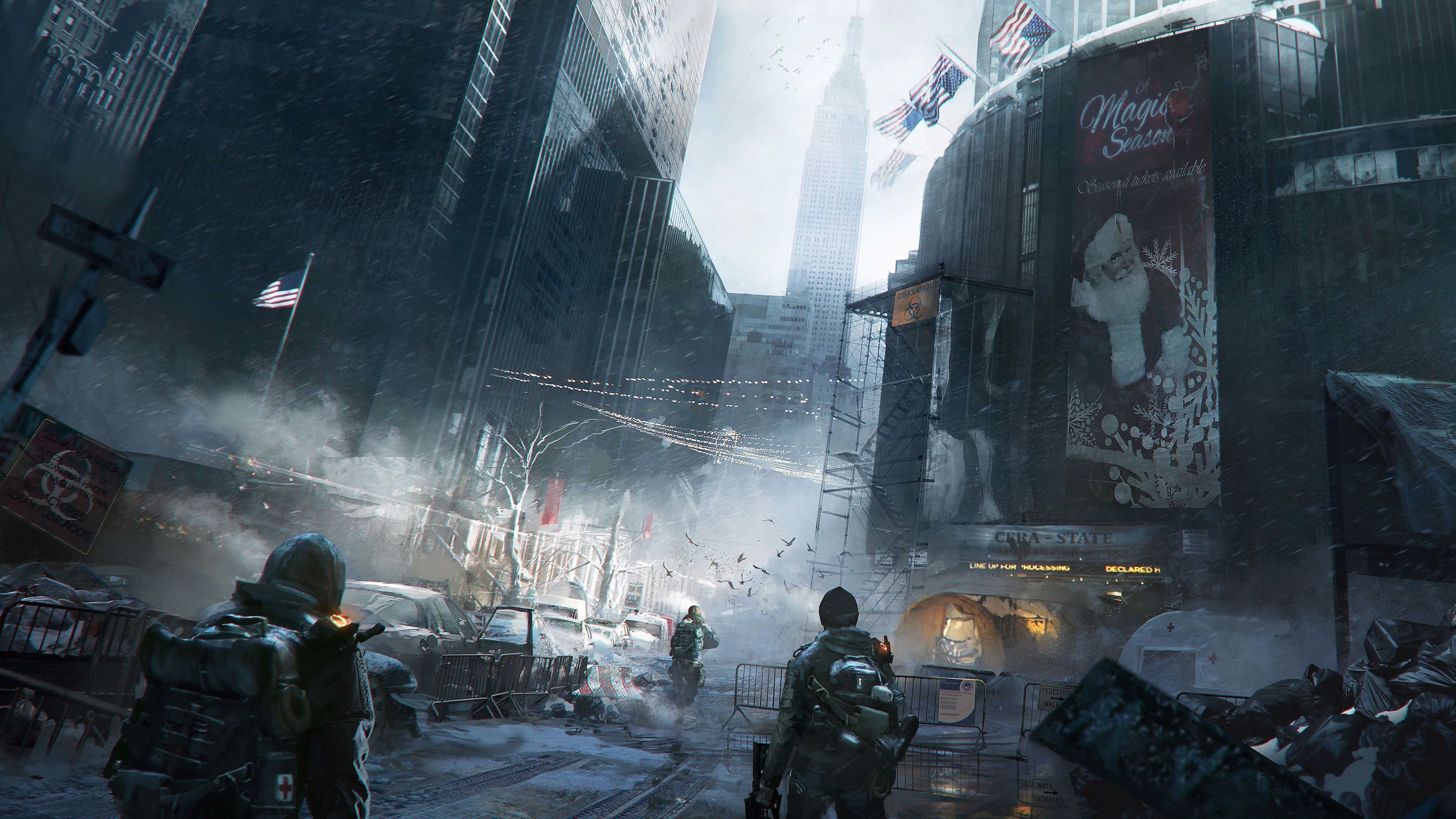 5120x2880 Free download The Division gets amazing 5K resolution ...