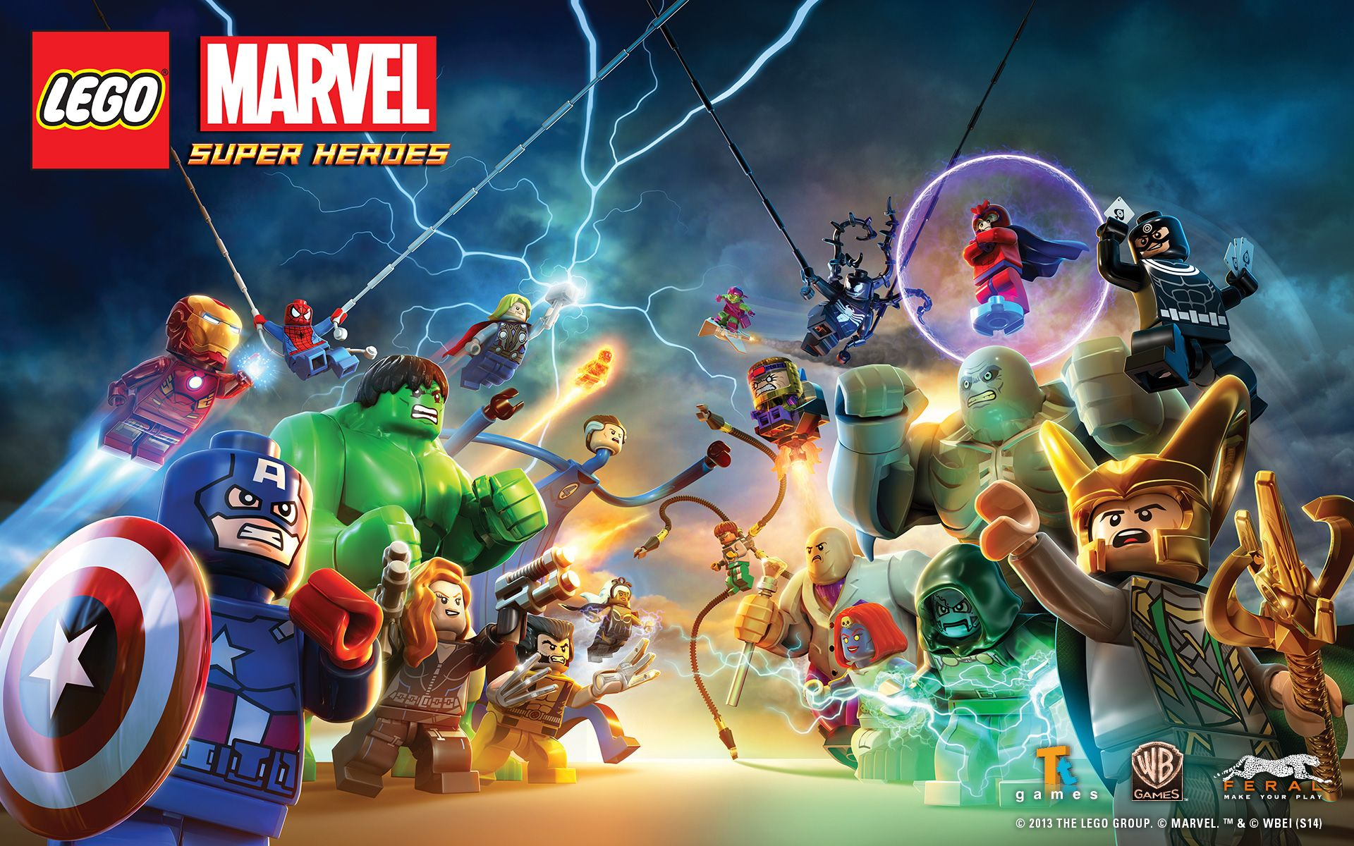 1920x1200 LEGO® Marvel™ Super Heroes for Mac - Media | Feral Interactive