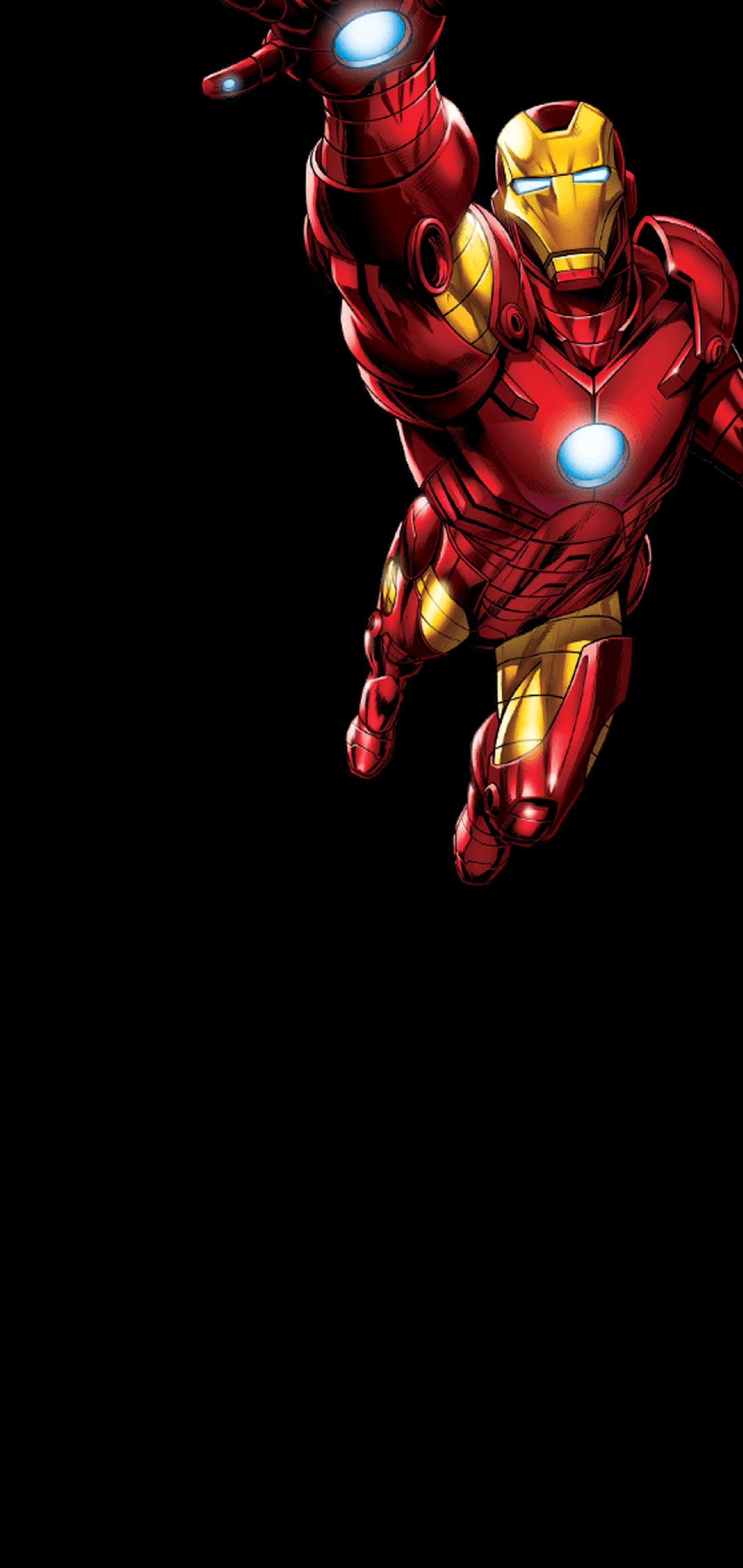 1440x3040 Iron Man for Note 10 : Note10wallpapers