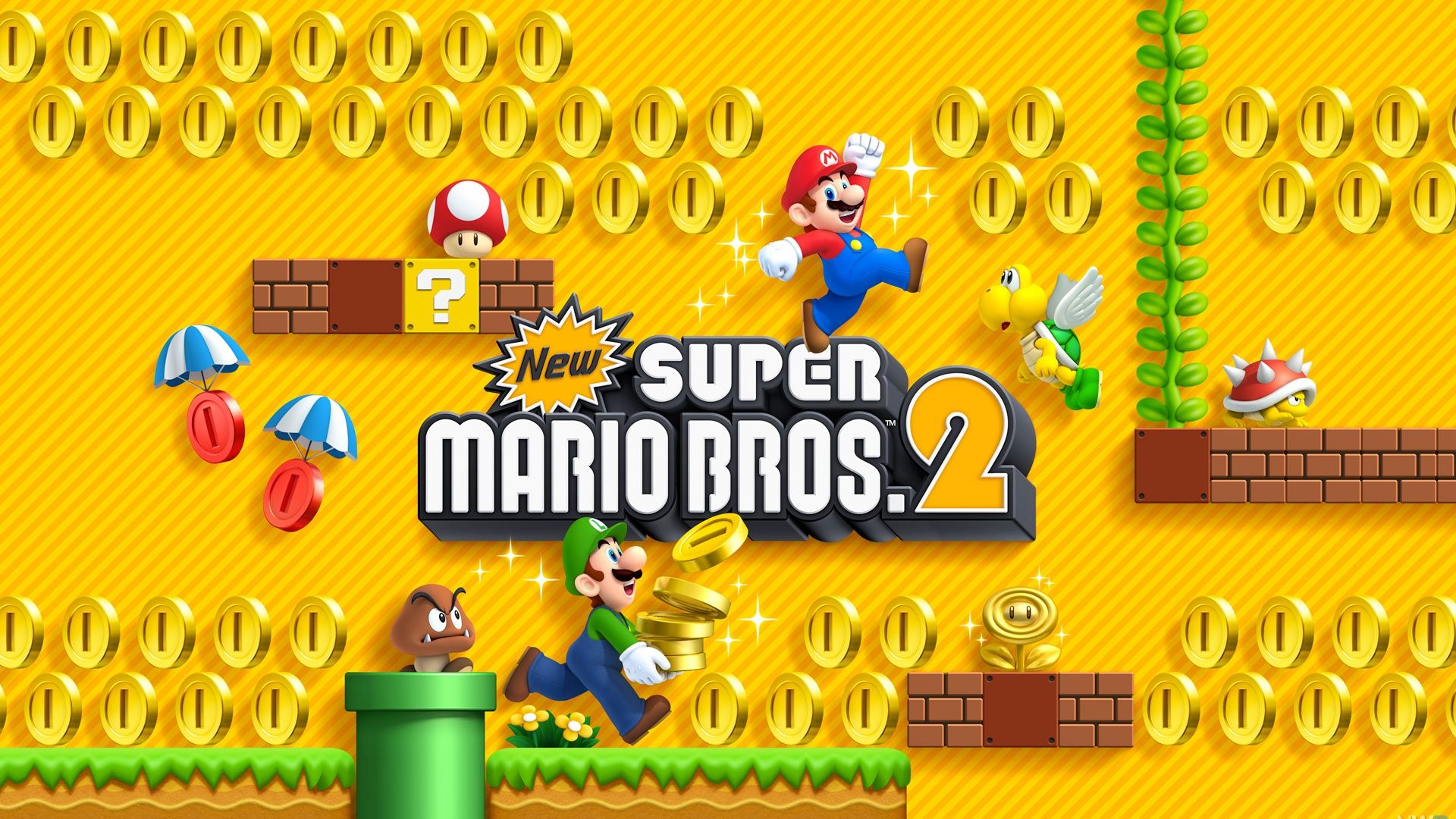 1920x1080 2 New Super Mario Bros. 2 HD Wallpapers | Background Images ...