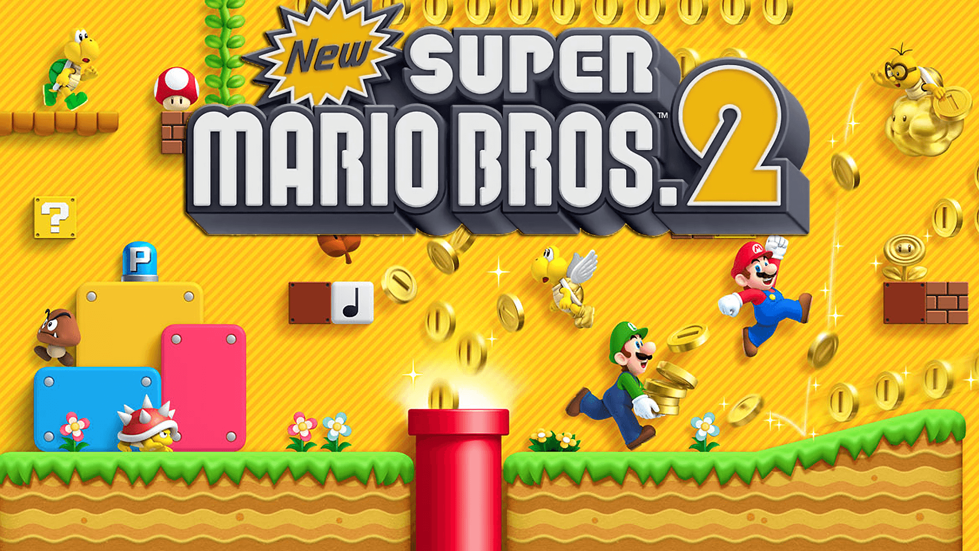 1920x1080 Wallpapers - New Super Mario Bros. 2 for Nintendo 3DS | Adorable ...