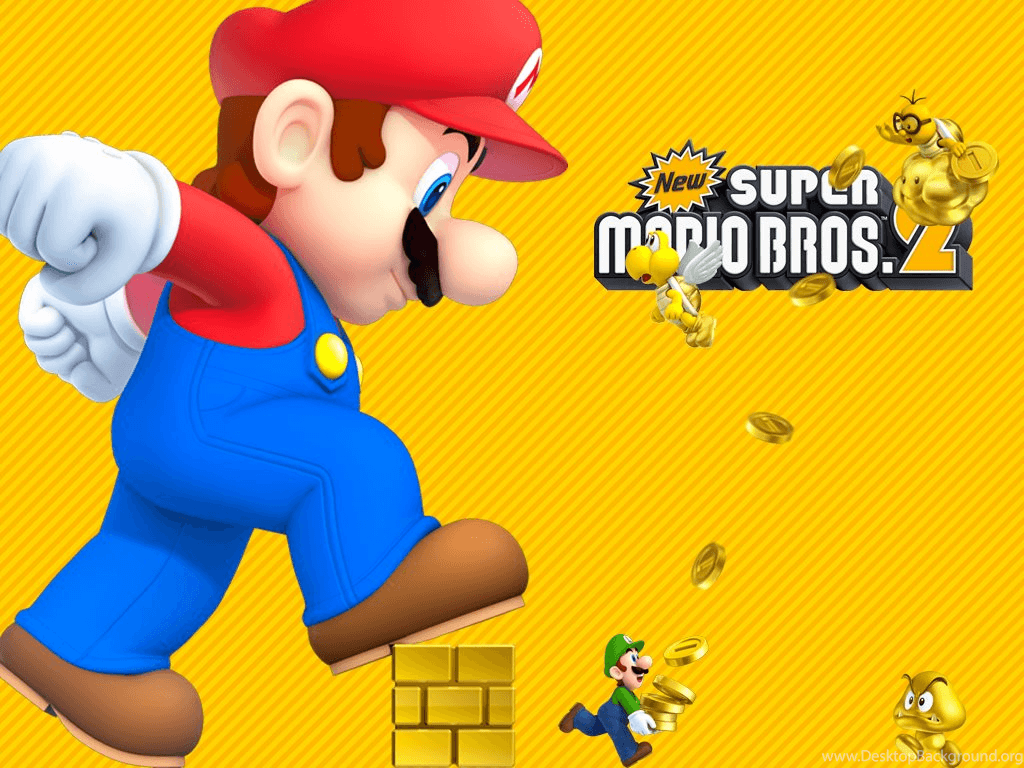 1024x768 1024x768 New Super Mario Bros. 2 Wallpaper(LARGER) By MaxiGamer On ...
