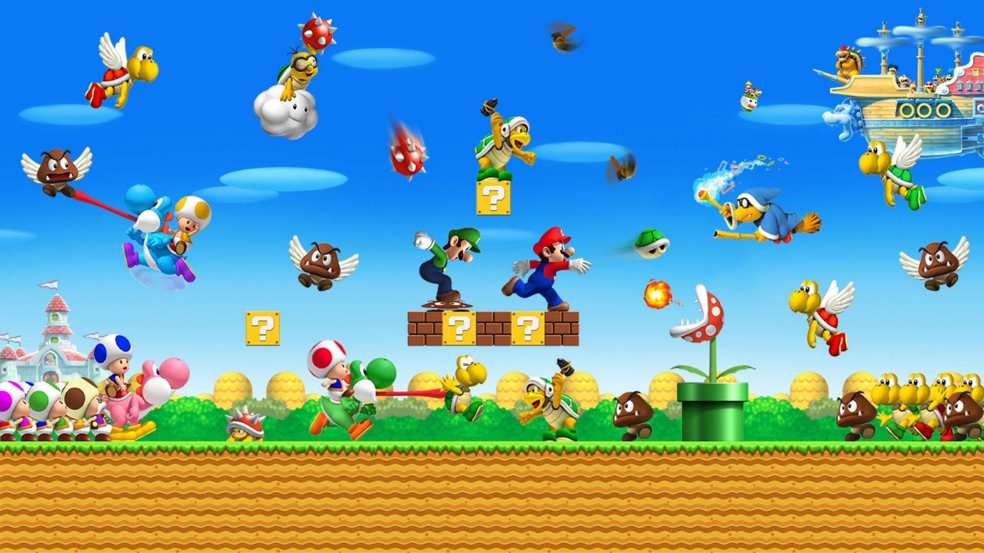 1920x1080 New Super Mario Bros 2 849942 - WallDevil
