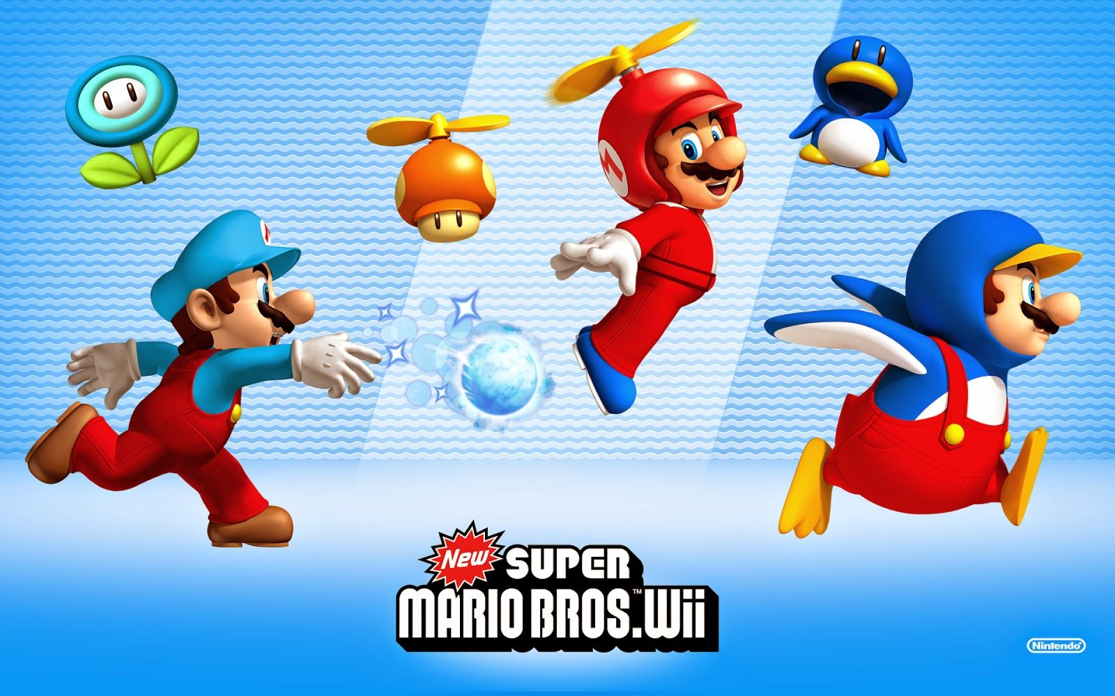 1600x1000 My Super Mario Boy: New Super Mario Bros. Wii Wallpapers
