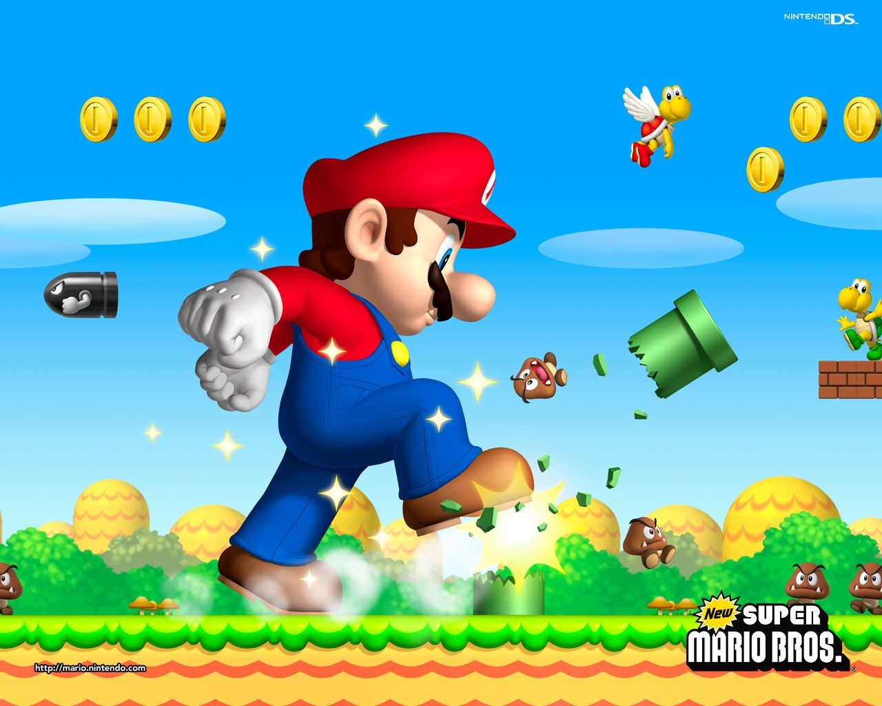 1280x1024 Mario Wallpapers - Download Super Mario Wallpapers