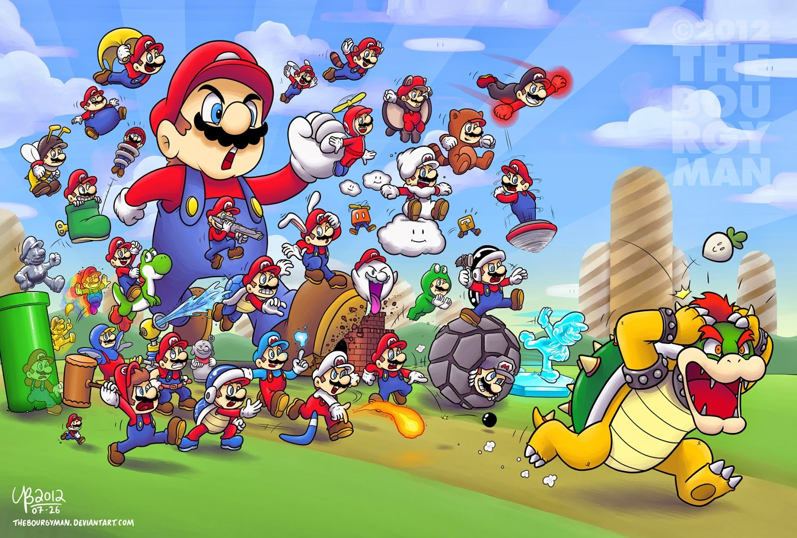 1600x1081 Life of Turner: Ranking the Mario games: the power-ups
