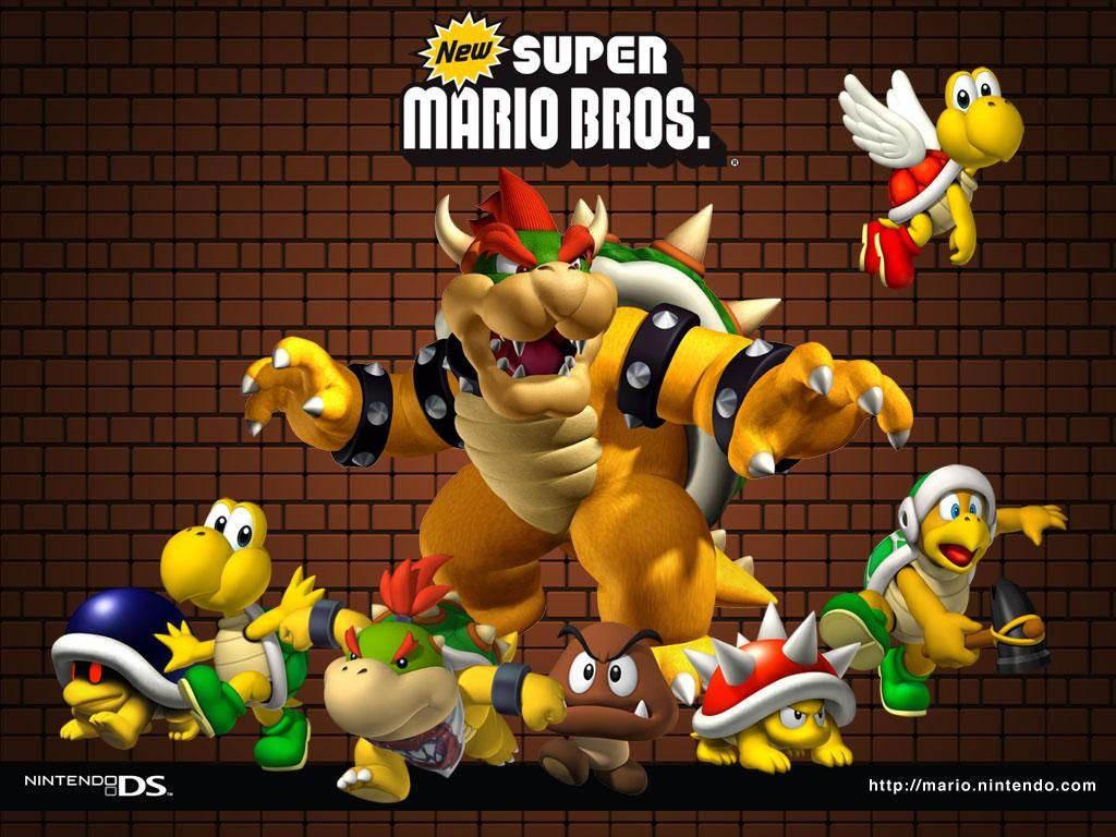 1024x768 Dan-Dare.org - New Super Mario Bros. Wallpaper 2 (1024 x 768 Pixels)