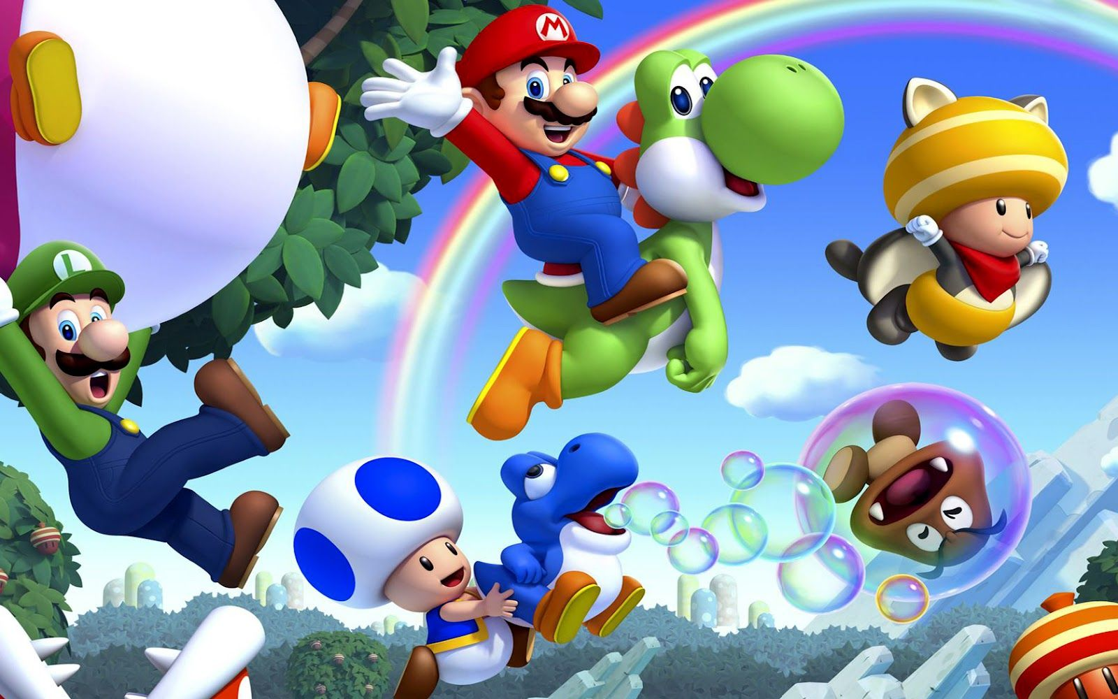 1600x1000 Super Mario bros 2 Wii U Wallpaper |Gamebud