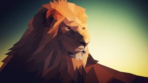 Geometric Lion Wallpapers – Top Free Geometric Lion Backgrounds