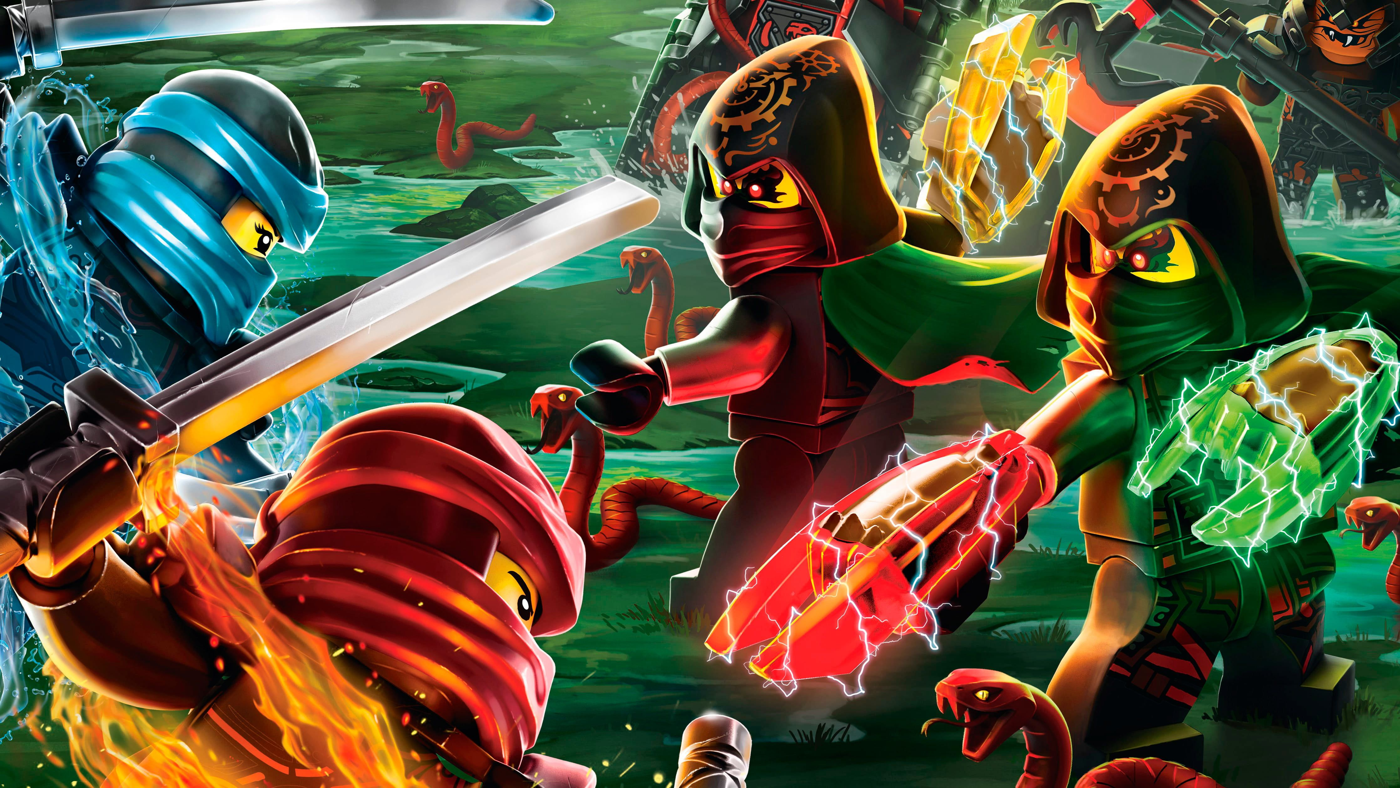 4474x2519 LEGO Ninjago wallpaper HD wallpaper | Wallpaper Flare
